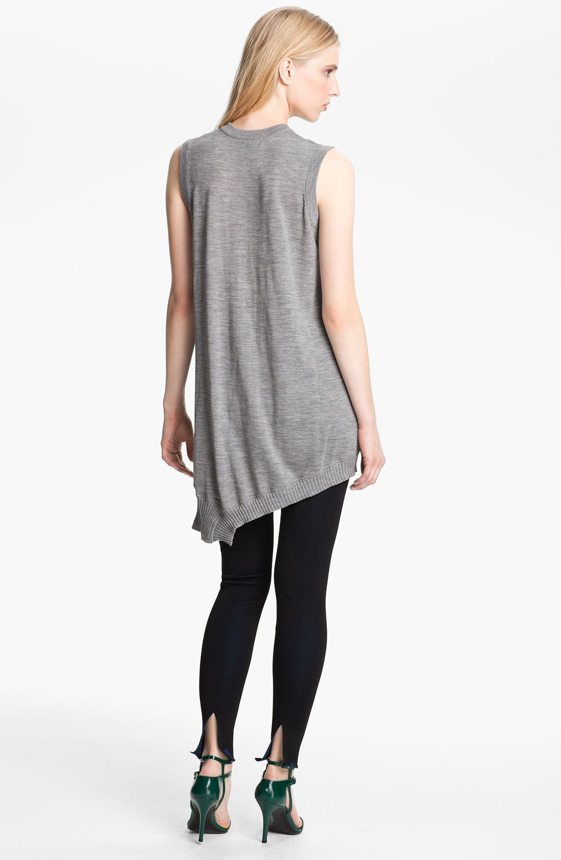 Alternate Image 2  - Alexander Wang Draped Merino Wool Dress