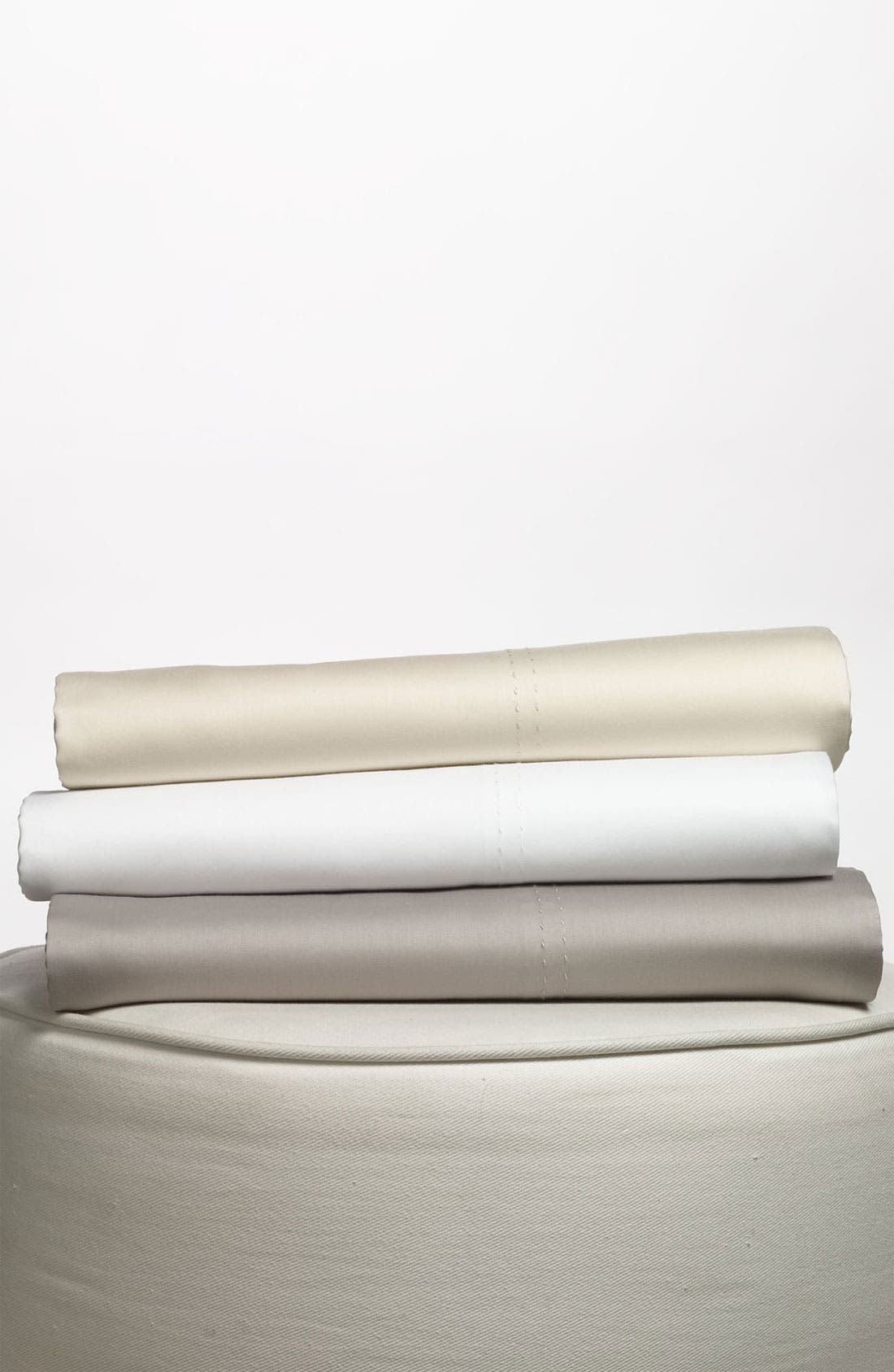 Alternate Image 1 Selected - Nordstrom at Home 300 Thread Count Sateen Fitted Sheet