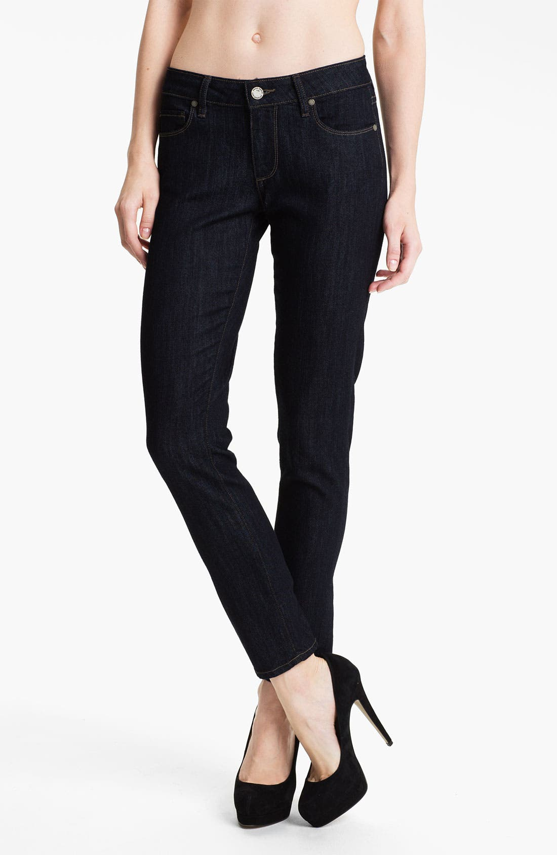Alternate Image 1 Selected - Paige Denim 'Skyline' Ankle Peg Skinny Stretch Jeans (Paris)