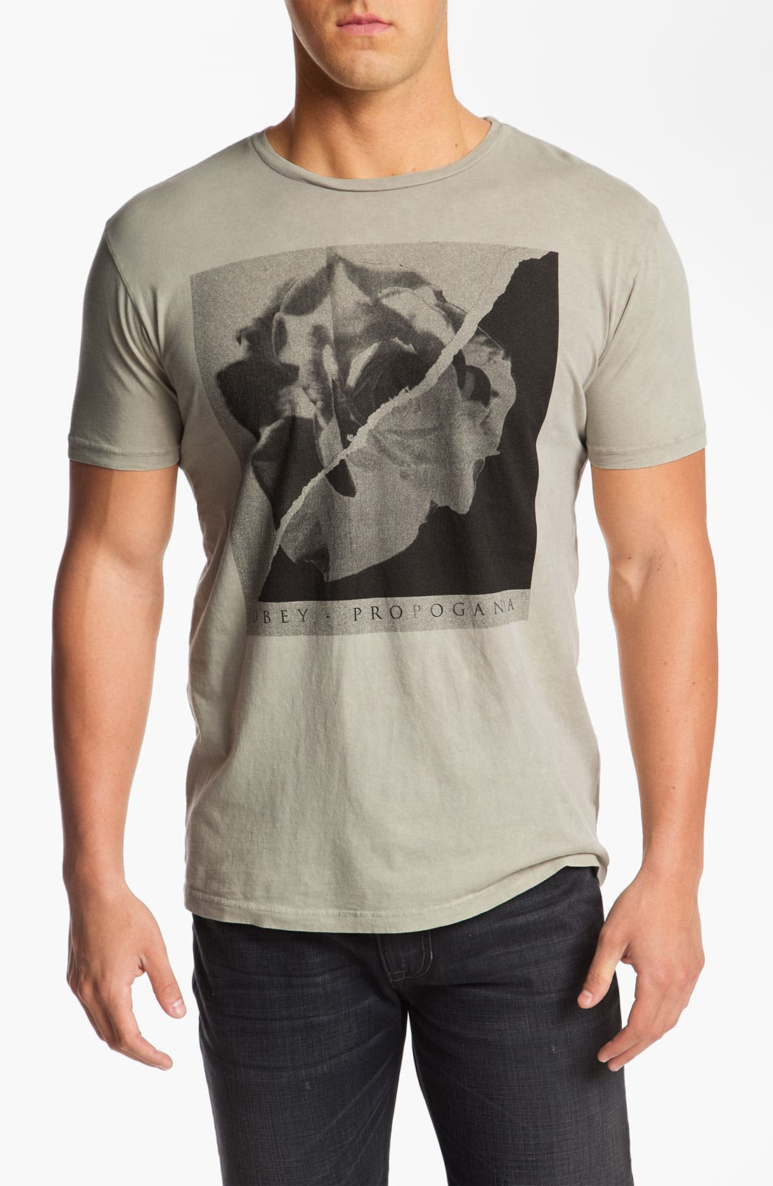 Alternate Image 1 Selected - Obey 'Burn Out Youth' Graphic T-Shirt