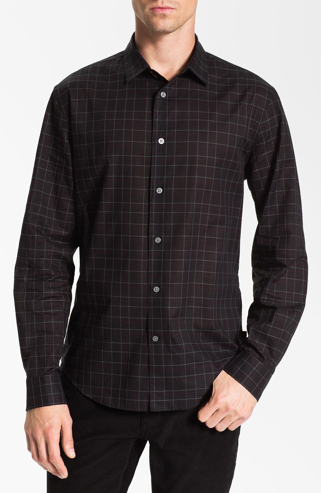 Main Image - John Varvatos Star USA Trim Fit Sport Shirt
