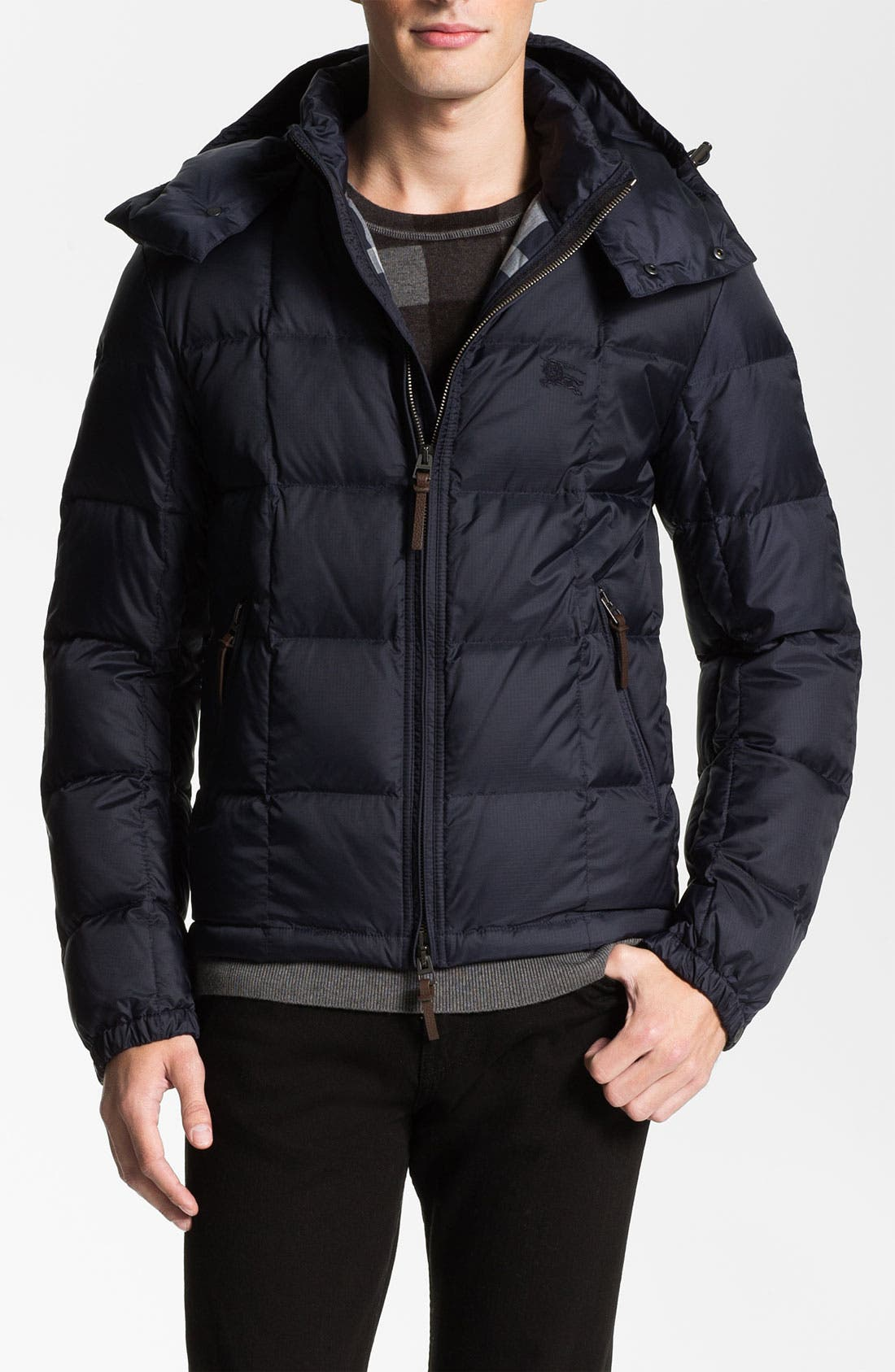 Alternate Image 1 Selected - Burberry Brit Quilted Down Jacket