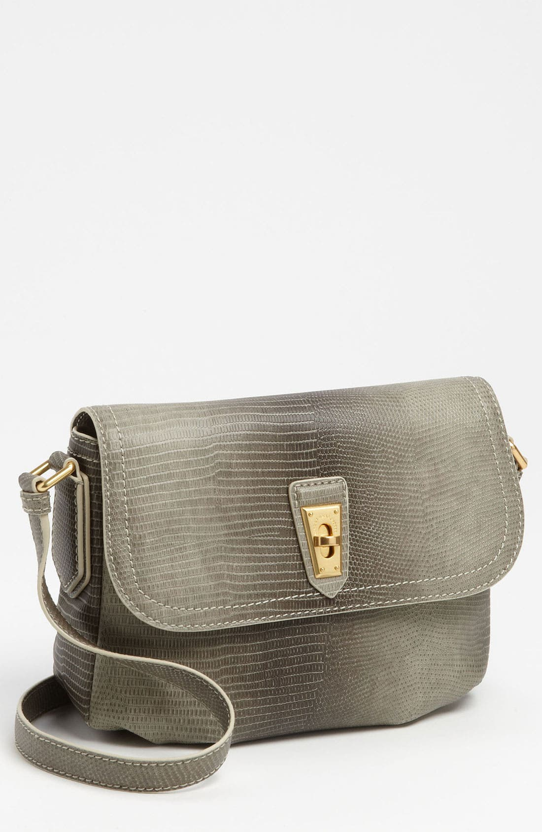 Main Image - MARC BY MARC JACOBS 'Embossed Lizzie' Crossbody Bag
