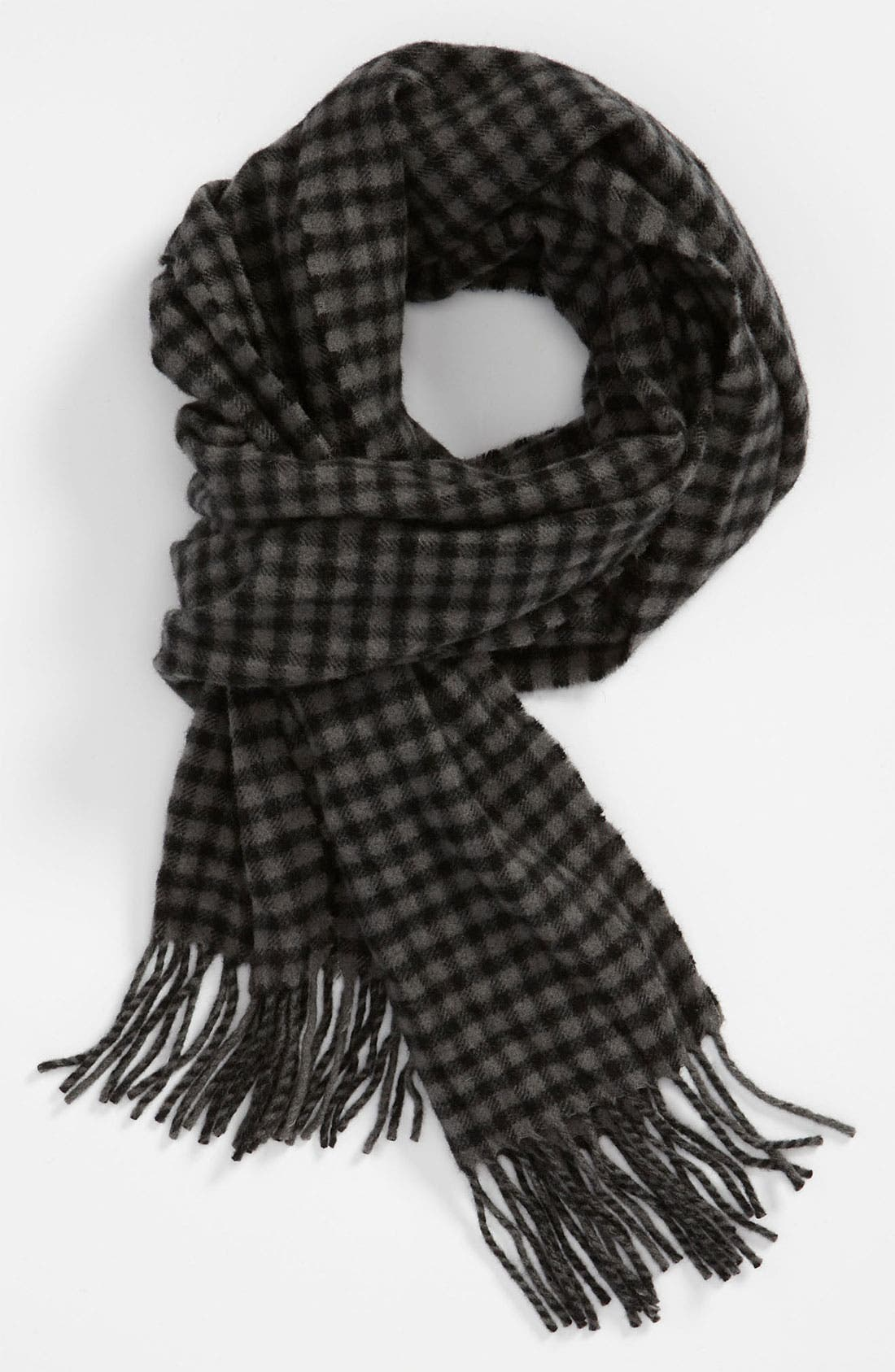 Alternate Image 1 Selected - John Varvatos Star USA Check Scarf