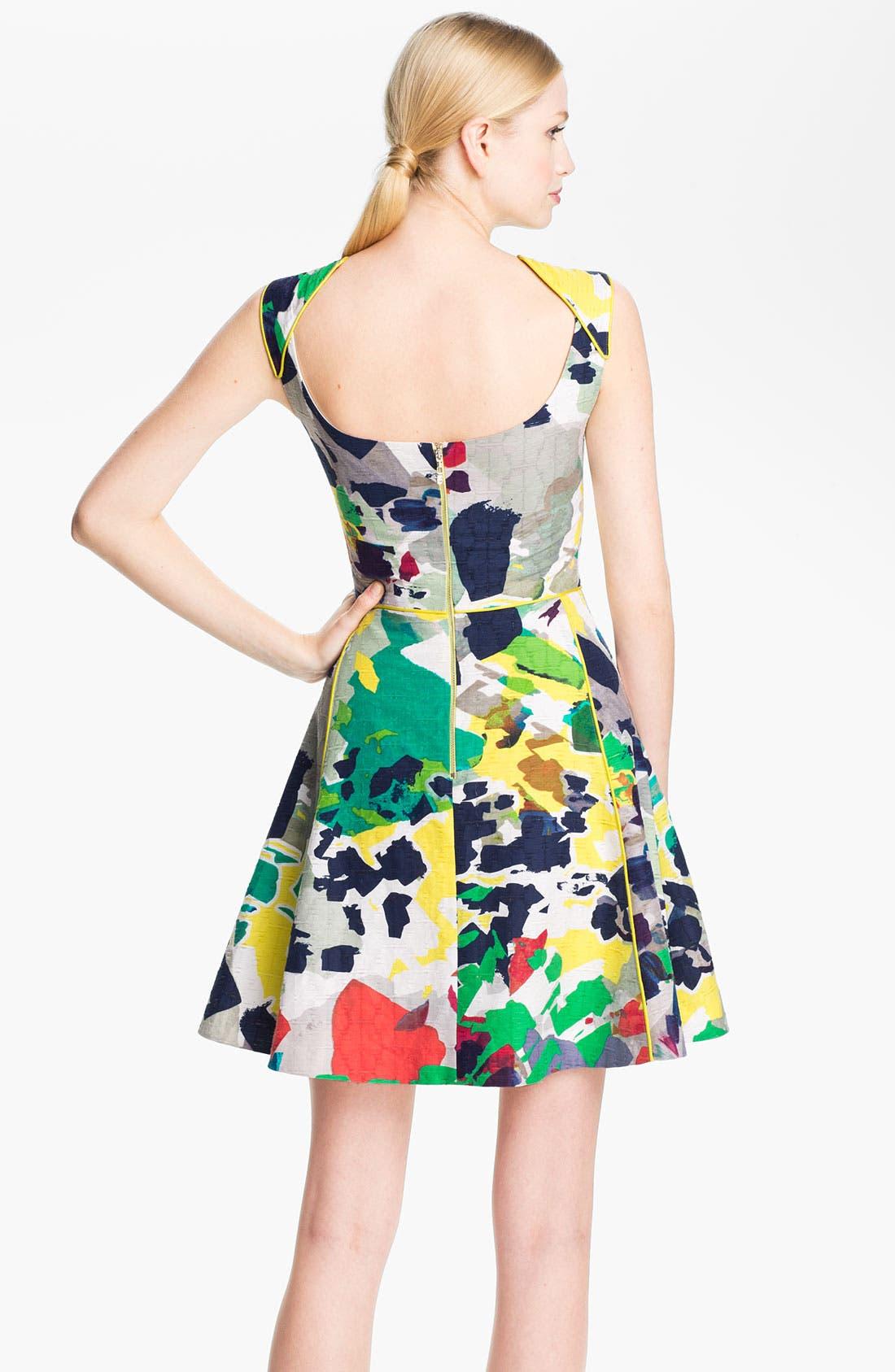 Alternate Image 2  - Rachel Roy Woven A-Line Dress