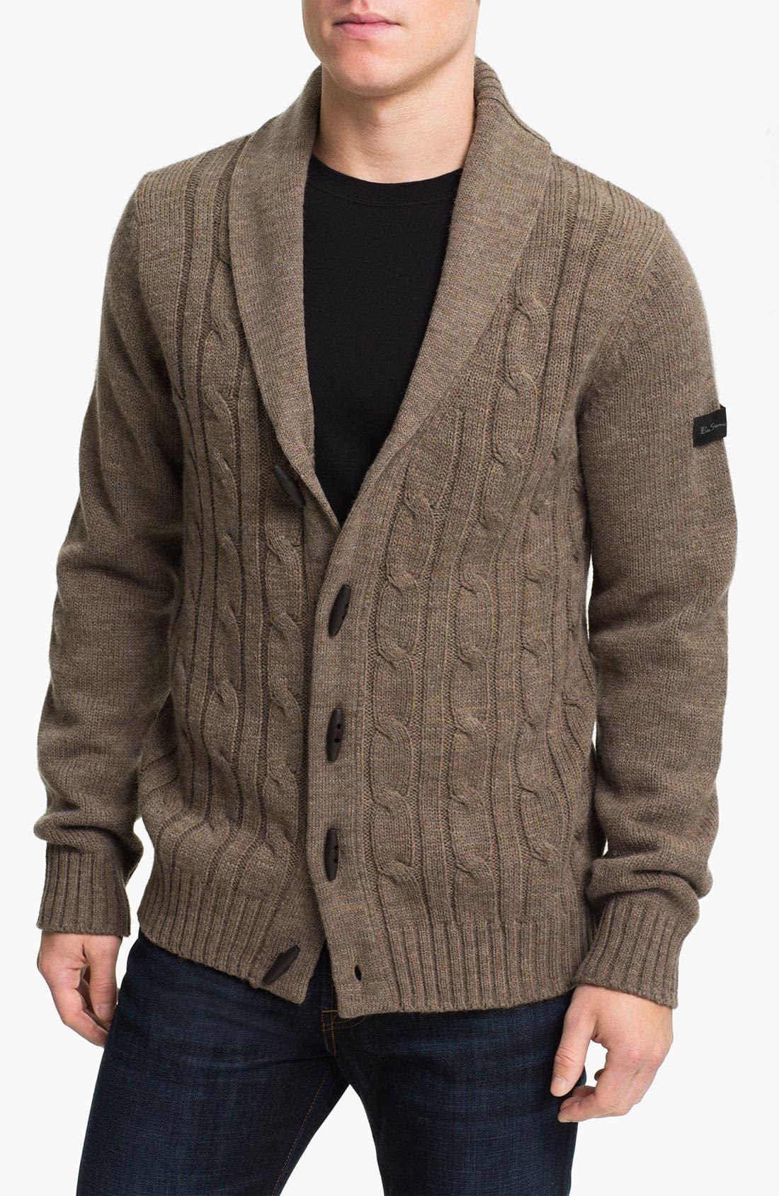 Alternate Image 1 Selected - Ben Sherman Shawl Collar Cardigan