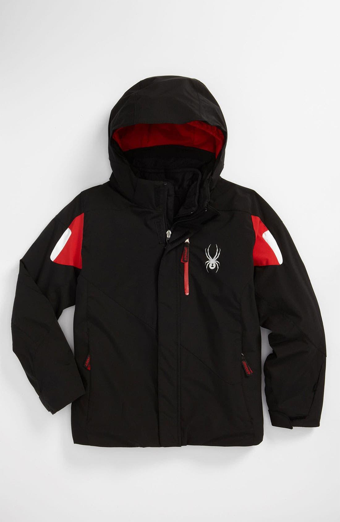 Main Image - Spyder 'Fang Core' Jacket (Big Boys)