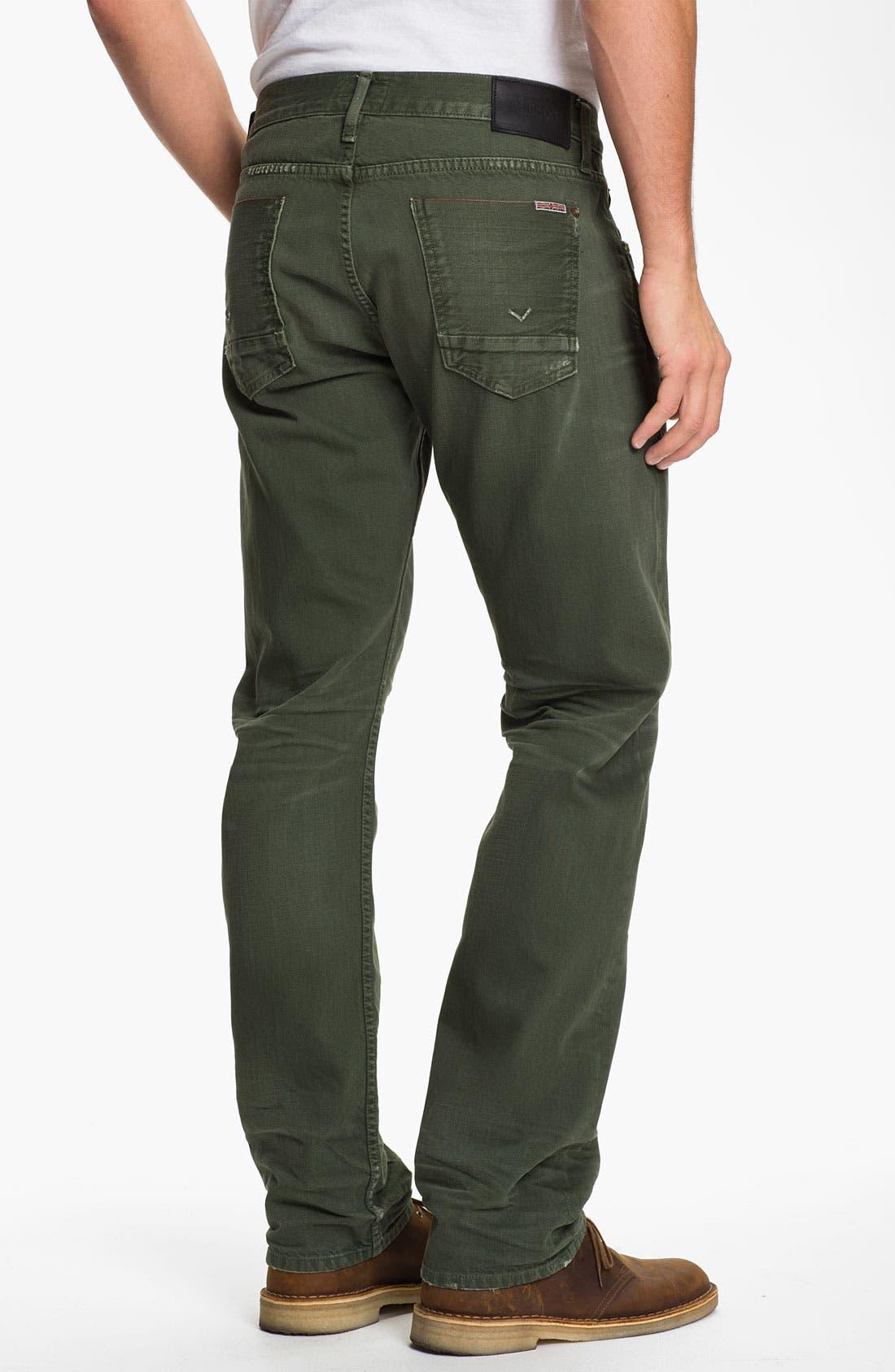Main Image - Hudson Jeans 'Byron' Selvedge Jeans (Entourage)