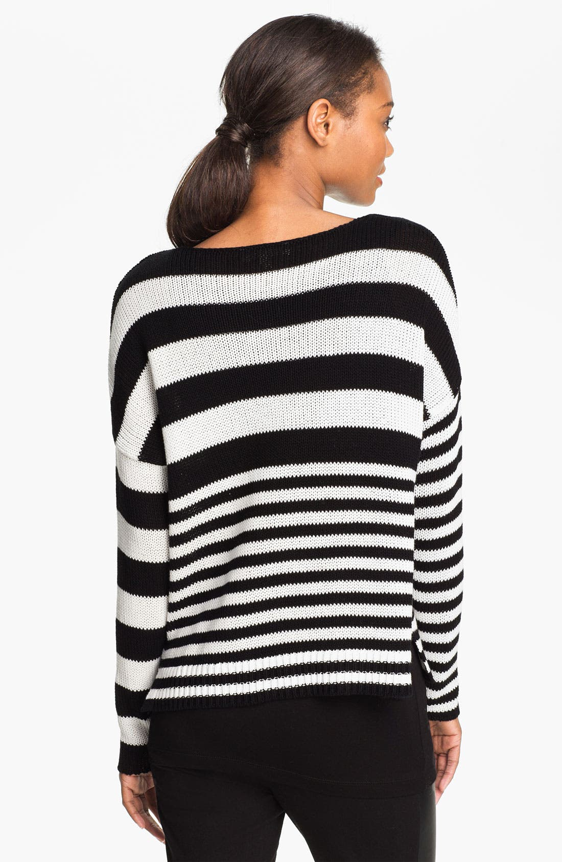 Alternate Image 2  - Two by Vince Camuto Boatneck Sweater