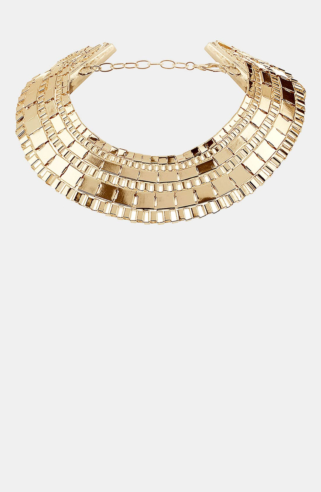 Main Image - Topshop Chunky Box Collar Necklace