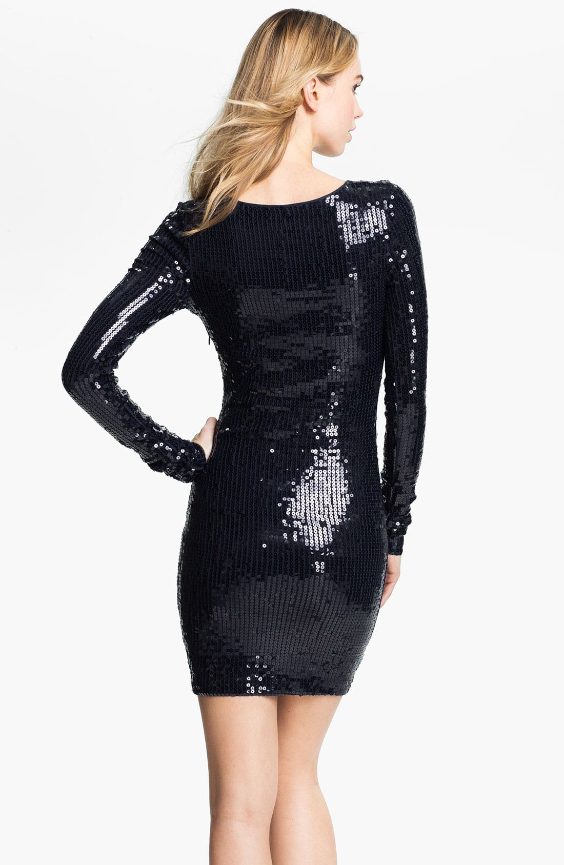 Alternate Image 2  - Robert Rodriguez Sequin Minidress