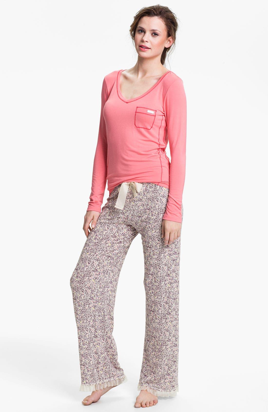 Alternate Image 2  - Kensie 'Starry Eyes' Lounge Pants