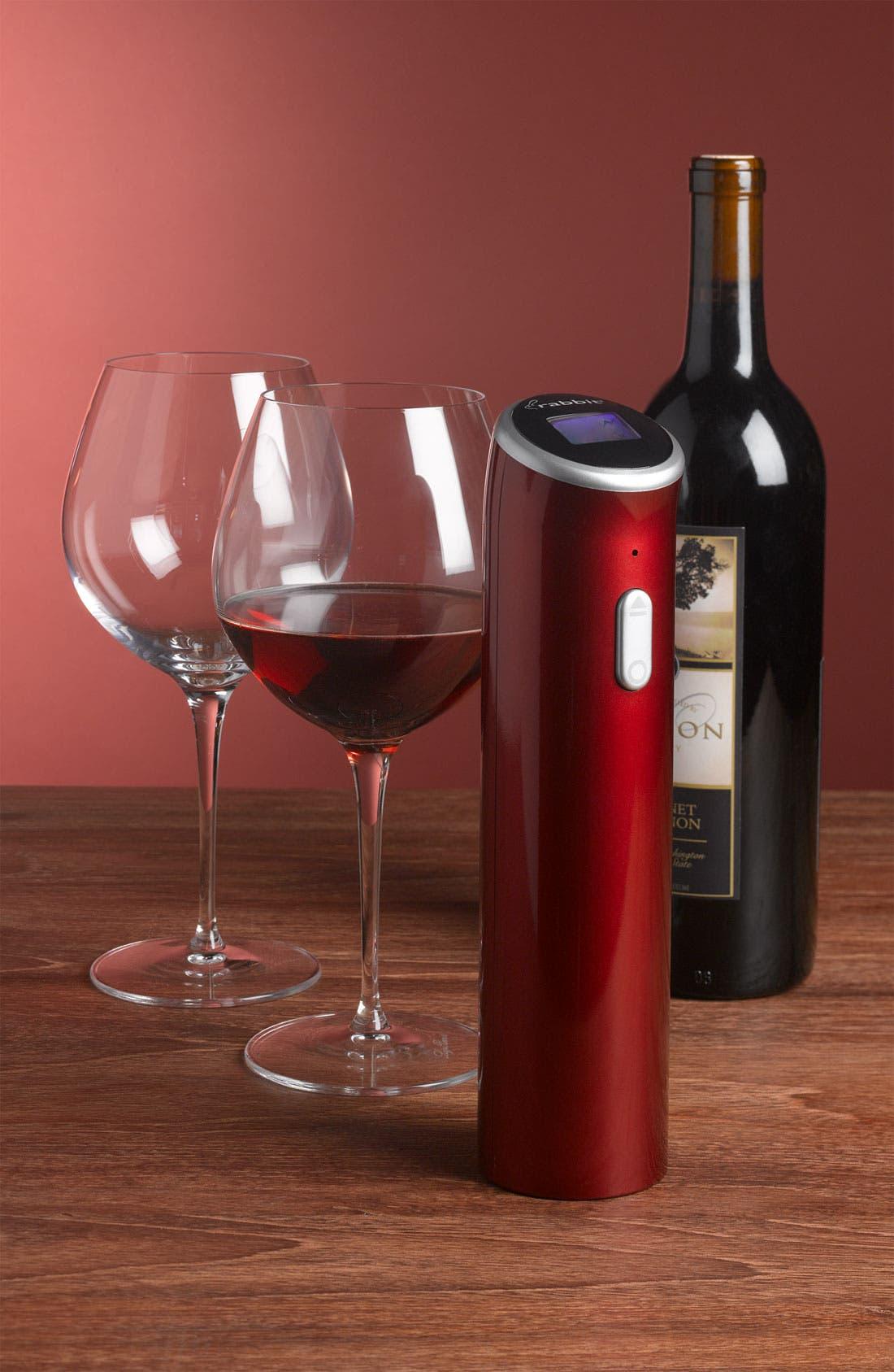Alternate Image 3  - Luigi Bormioli 'Wine Profiles Smooth Reds' Wine Glasses (Set of 2)