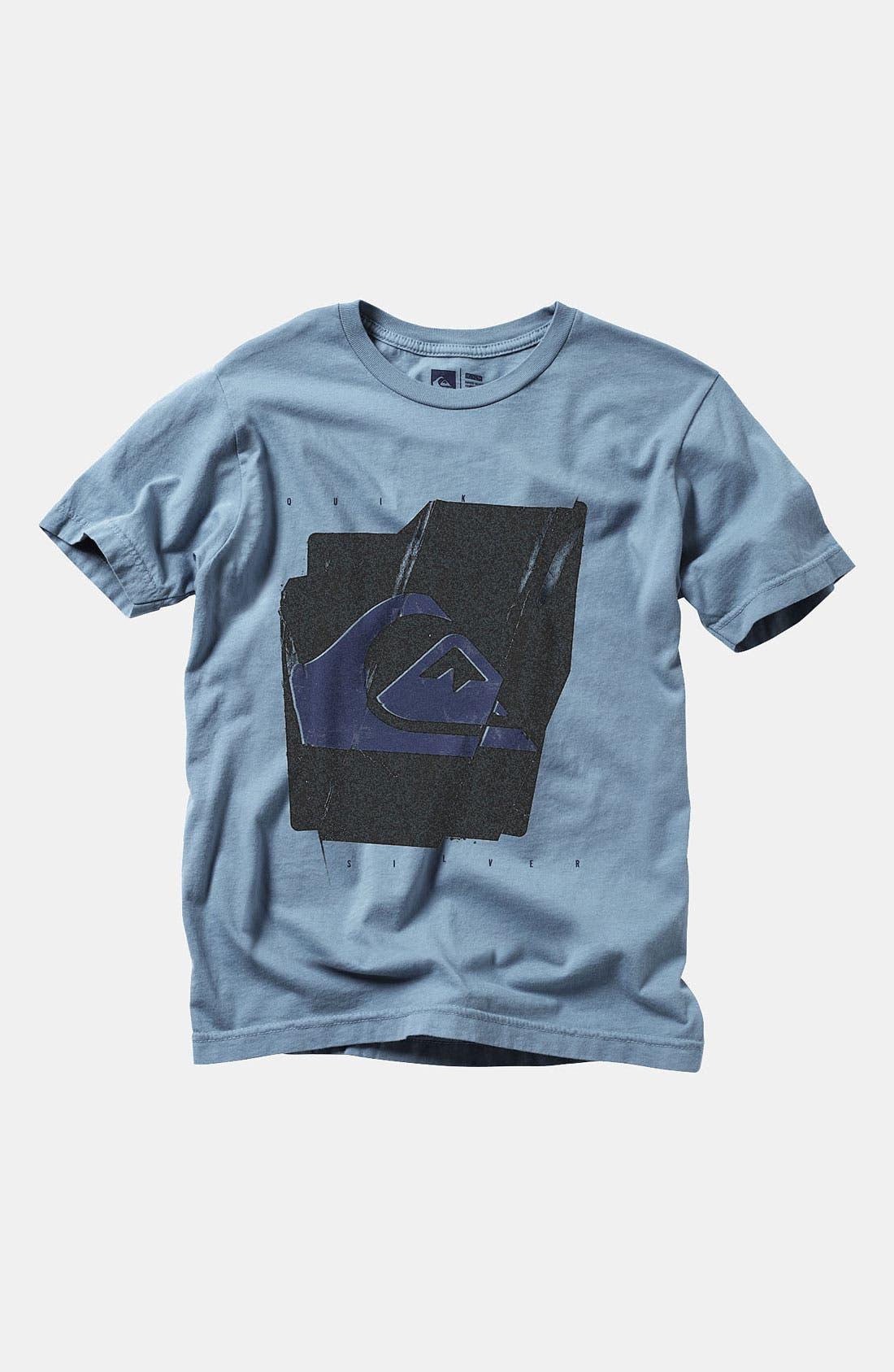 Alternate Image 1 Selected - Quiksilver 'Disregard' T-Shirt (Big Boys)