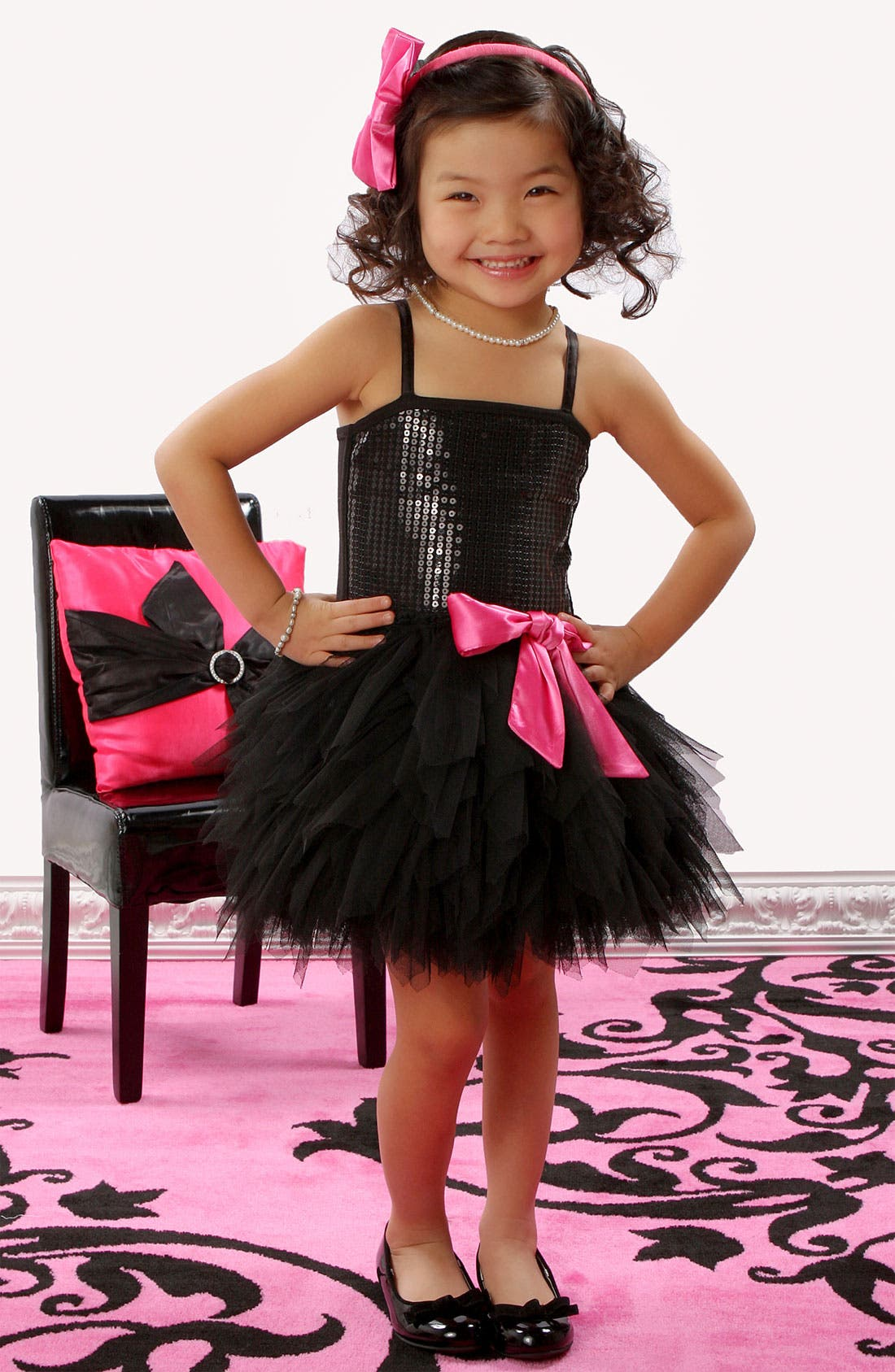 Alternate Image 2  - Ooh! La, La! Couture 'Wow' Sequin Tutu Dress (Big Girls)