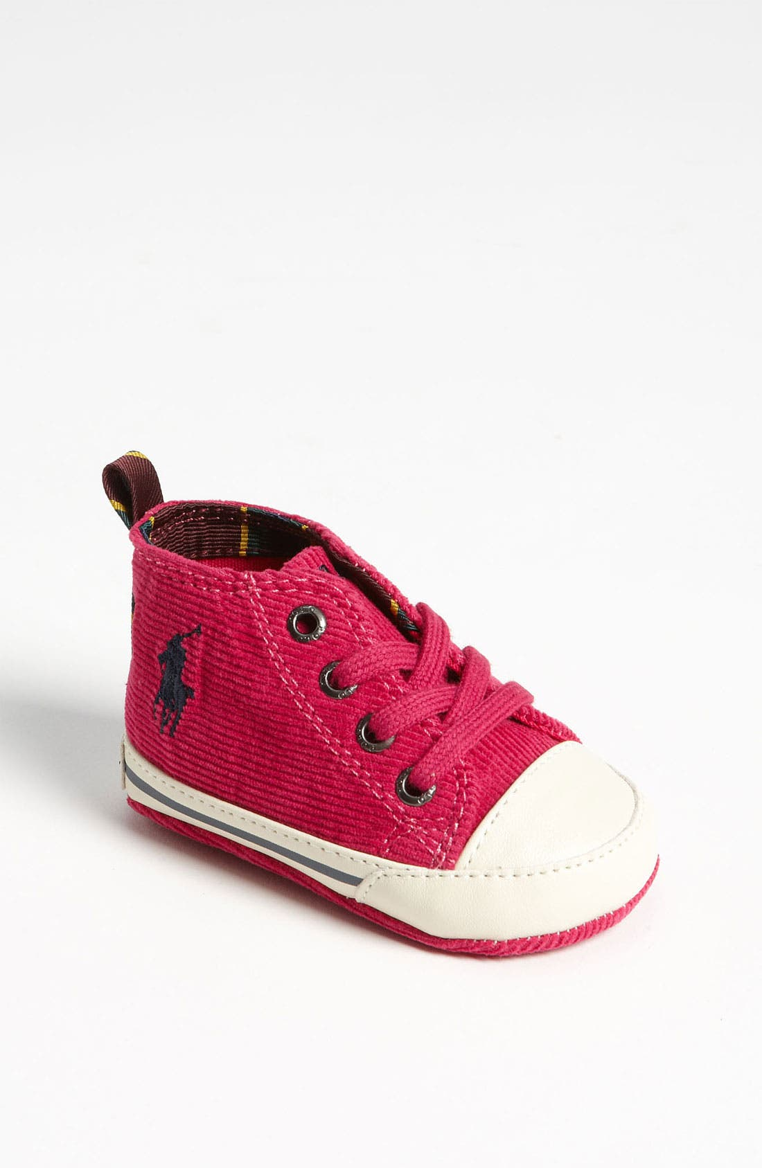 Alternate Image 1 Selected - Ralph Lauren Layette Crib Shoe (Baby)