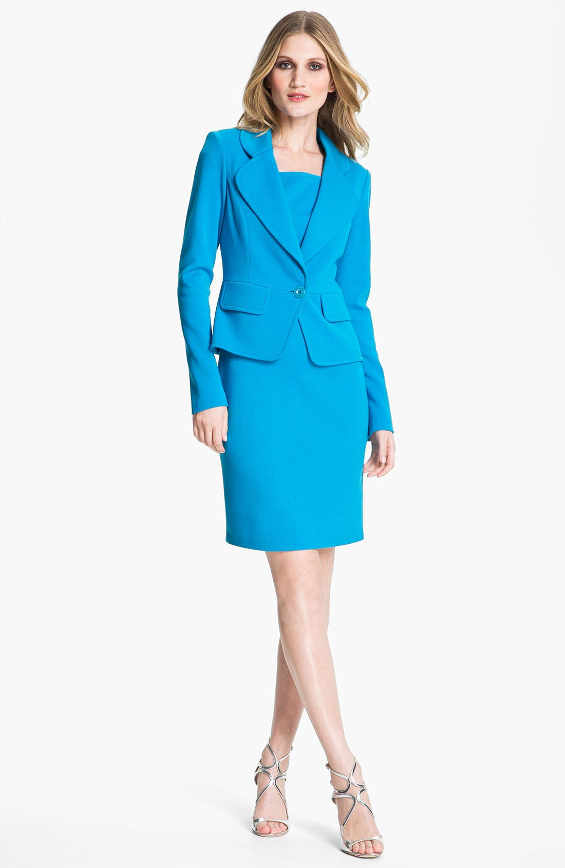 Alternate Image 1 Selected - St. John Collection Jacket & Sheath Dress