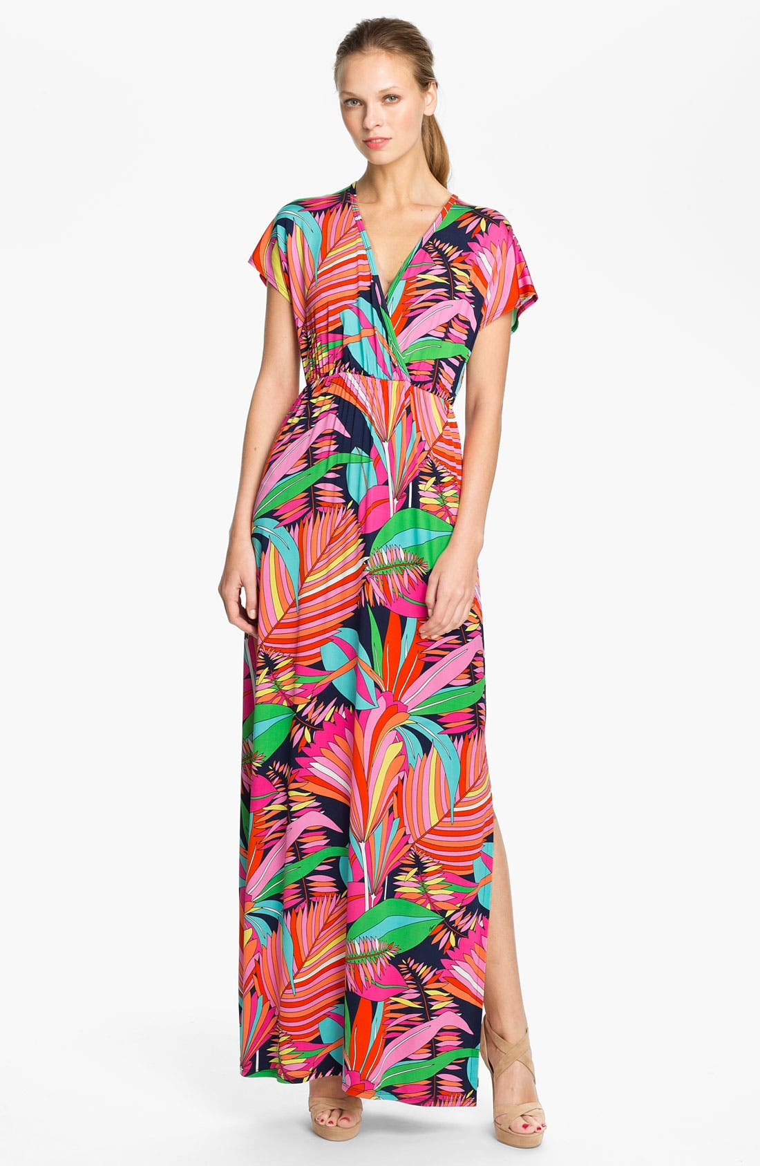 Alternate Image 1 Selected - Trina Turk 'Amrita' Print Maxi Dress