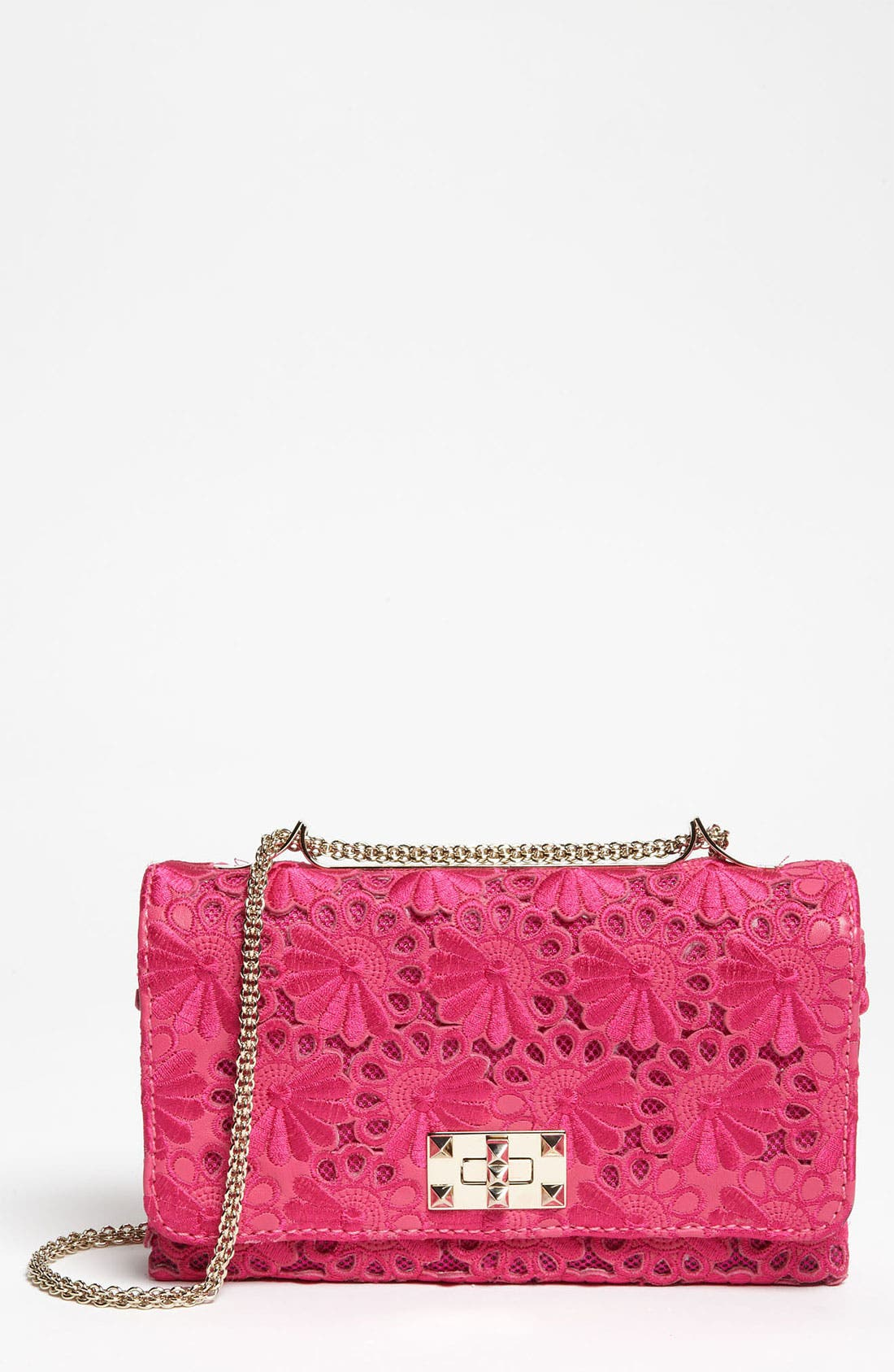 Alternate Image 1 Selected - Valentino 'Girello Flap' Lace Bag