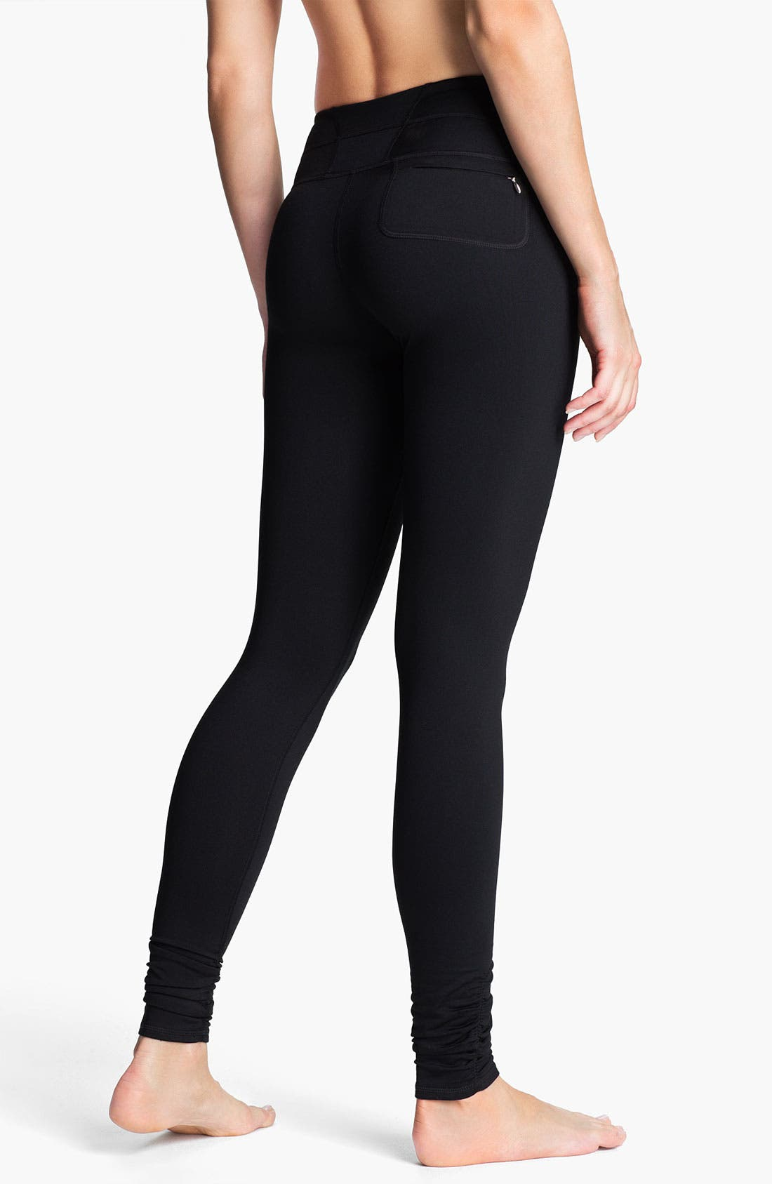 Alternate Image 2  - Zella Fleece Leggings