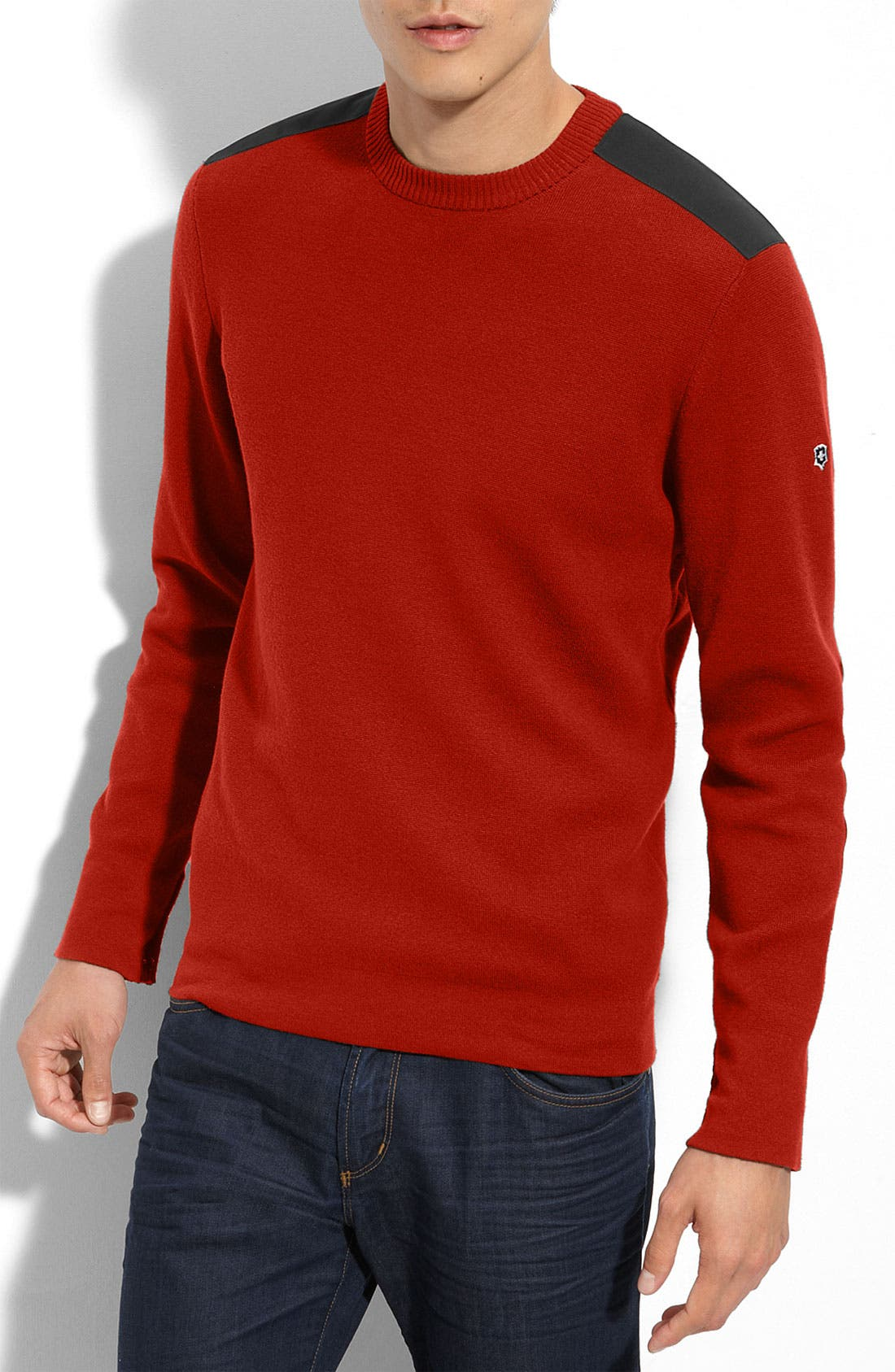 Alternate Image 1 Selected - Victorinox Swiss Army® 'Sleaford' Crewneck Sweater (Online Exclusive)