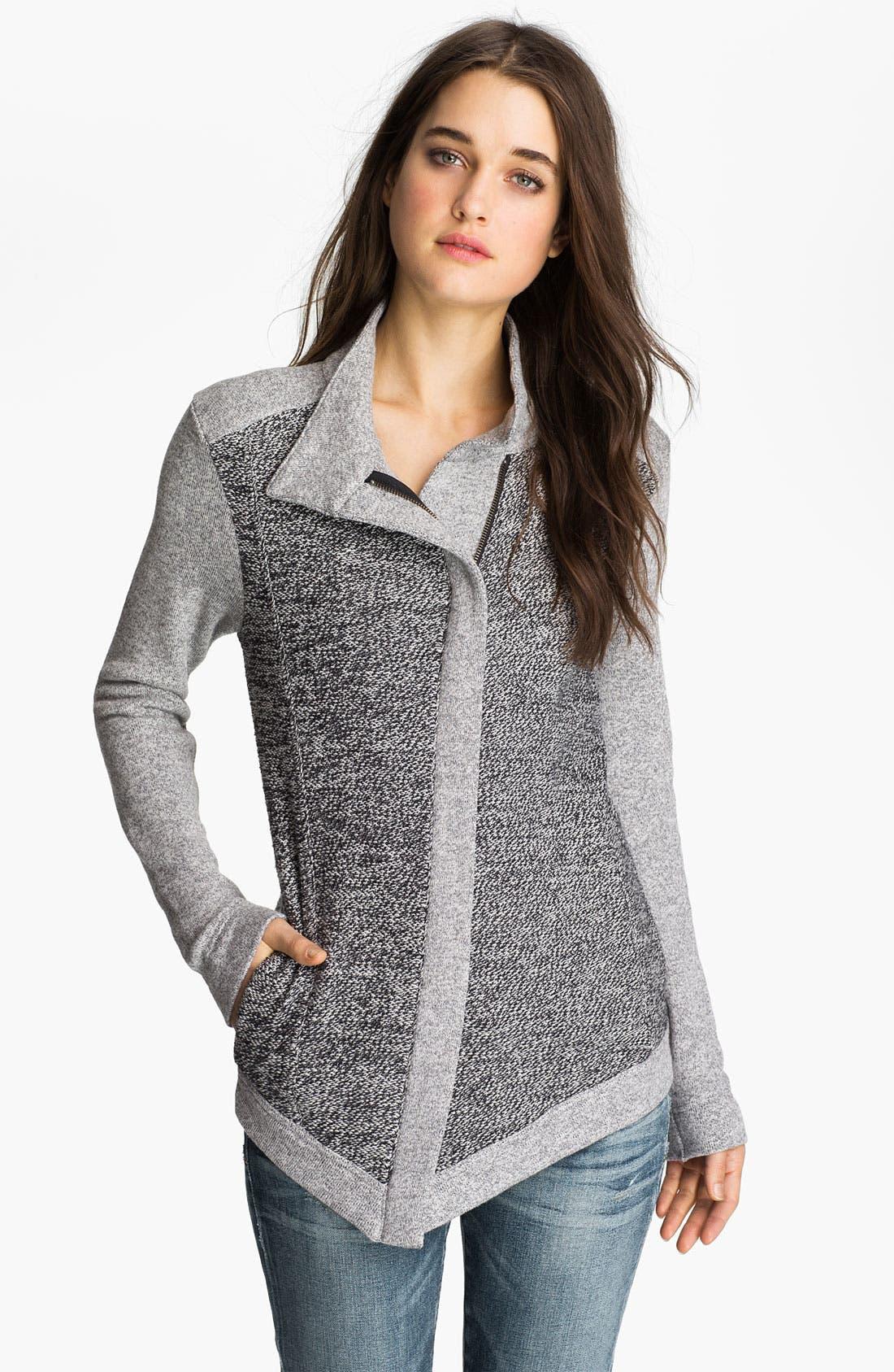 Alternate Image 1 Selected - Stem Asymmetrical Zip Jacket