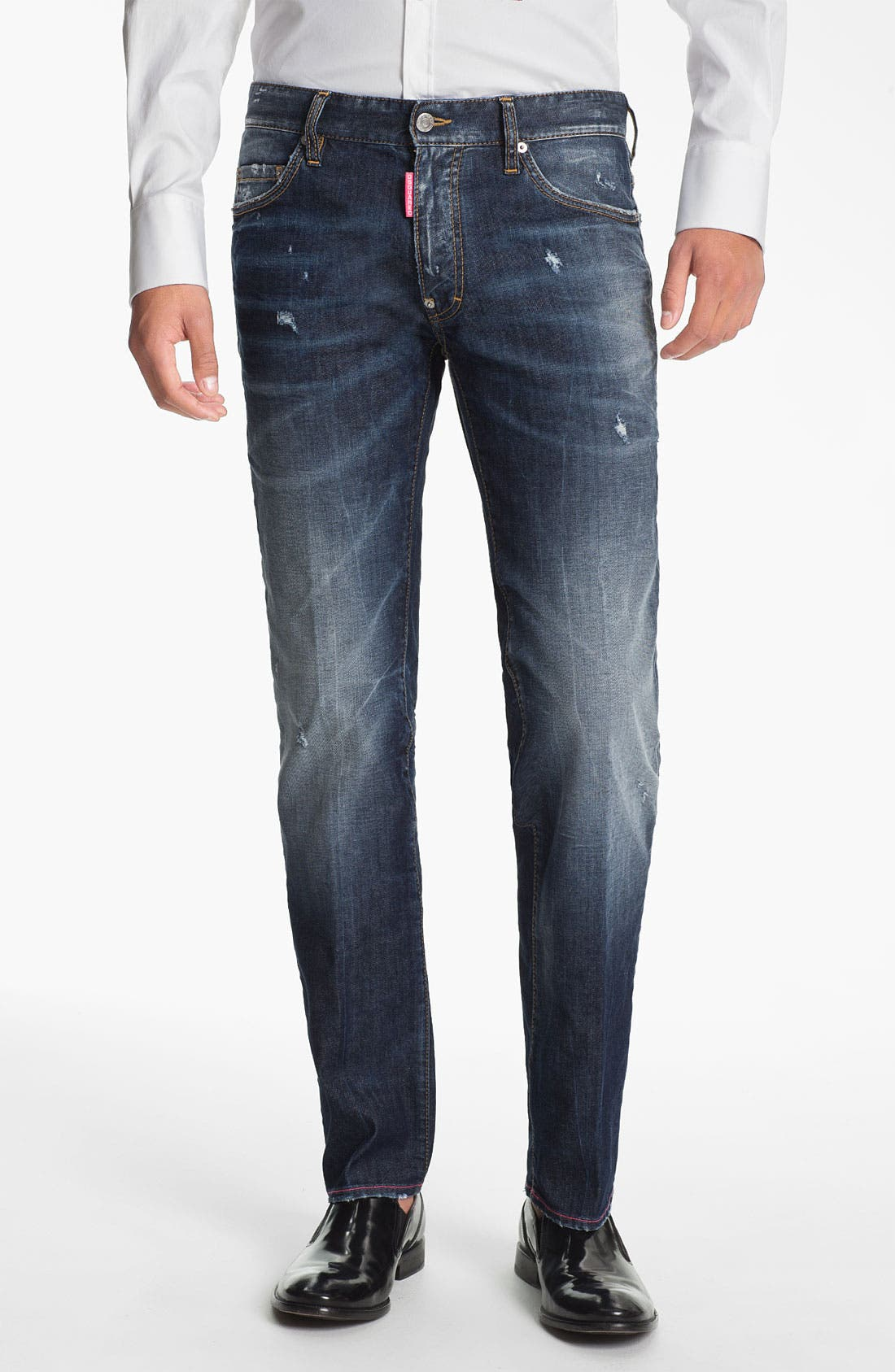 Alternate Image 1 Selected - Dsquared2 'Dean' Straight Leg Jeans