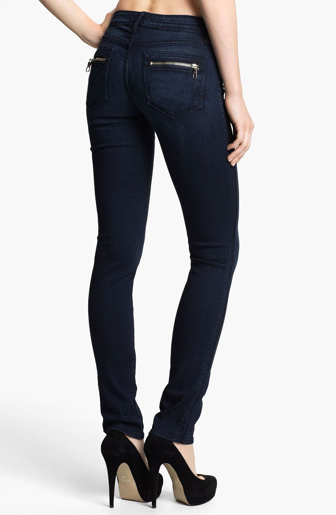 Alternate Image 2  - Rich & Skinny 'Tuxedo' Skinny Jeans (Zeus)