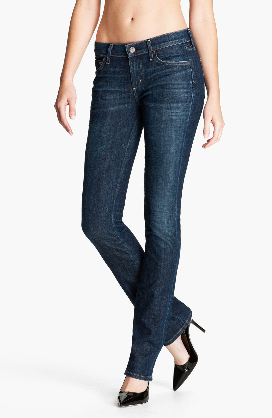 Main Image - Citizens of Humanity 'Ava' Straight Leg Stretch Jeans (Galaxy)