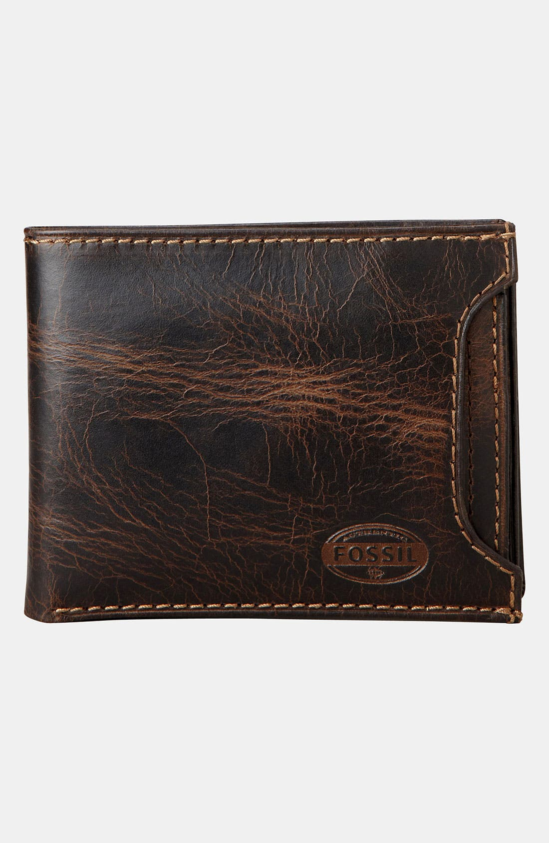 Alternate Image 2  - Fossil 'Norton' Wallet with Sliding ID Window