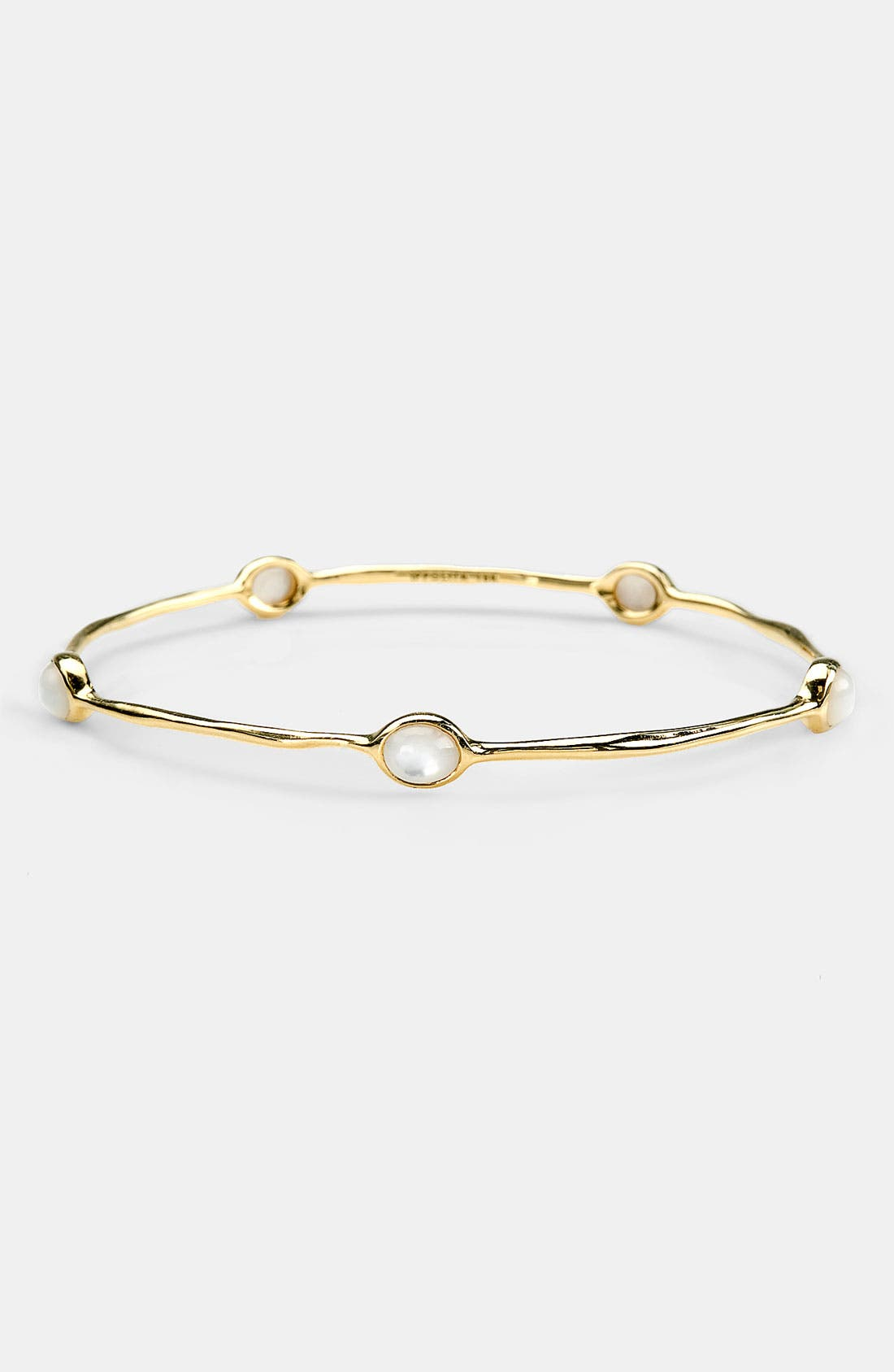 Alternate Image 1 Selected - Ippolita 'Rock Candy - Lollipop' 5-Stone 18k Gold Bangle