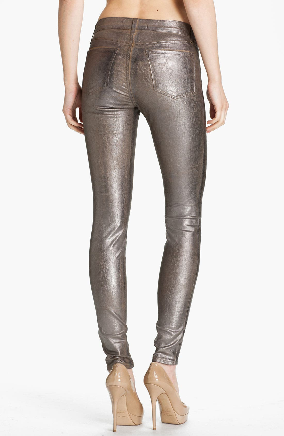 Alternate Image 2  - J Brand Stretch Denim Leggings