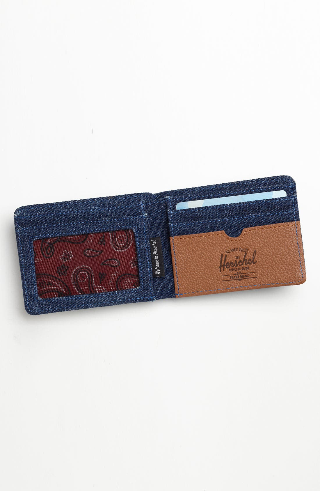Alternate Image 3  - Herschel Supply Co. 'Hank - Denim Collection' Wallet