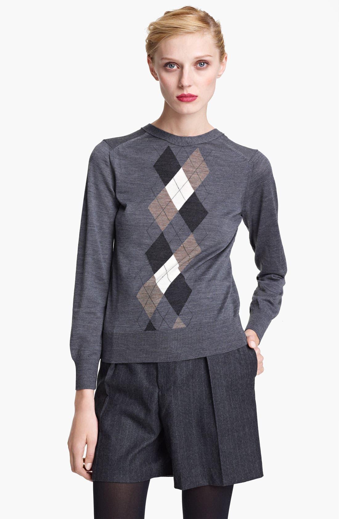 Alternate Image 1 Selected - Junya Watanabe Button Back Wool Sweater