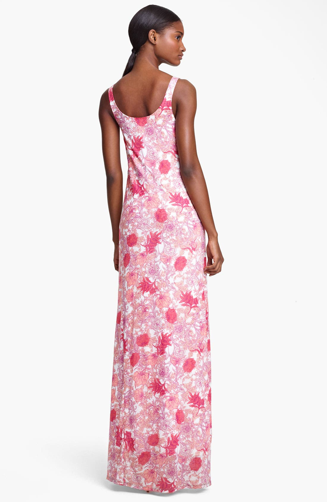 Alternate Image 2  - Thakoon Floral Print Jersey Maxi Dress