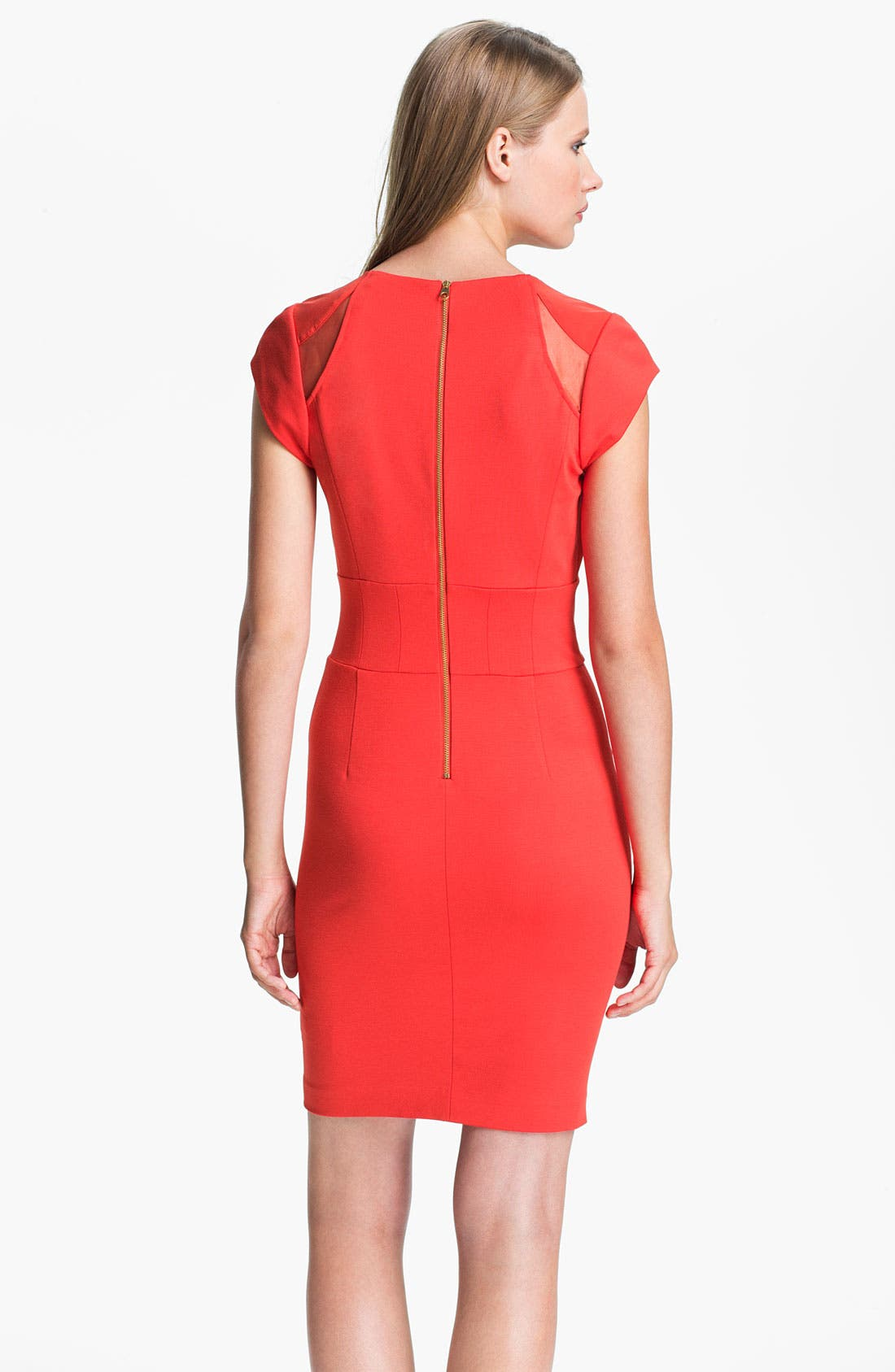 Alternate Image 2  - Ted Baker London Paneled Sheath Dress