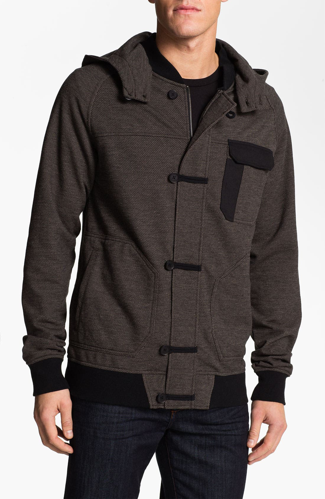 Main Image - Ezekiel 'Jaxson' Sweatshirt Jacket