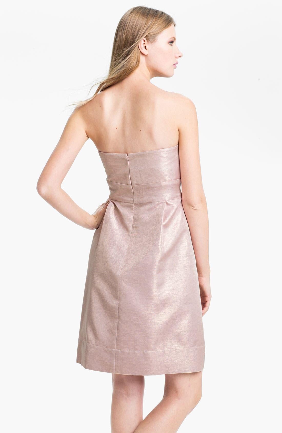 Alternate Image 2  - Eliza J Embellished Strapless Sweetheart Dress
