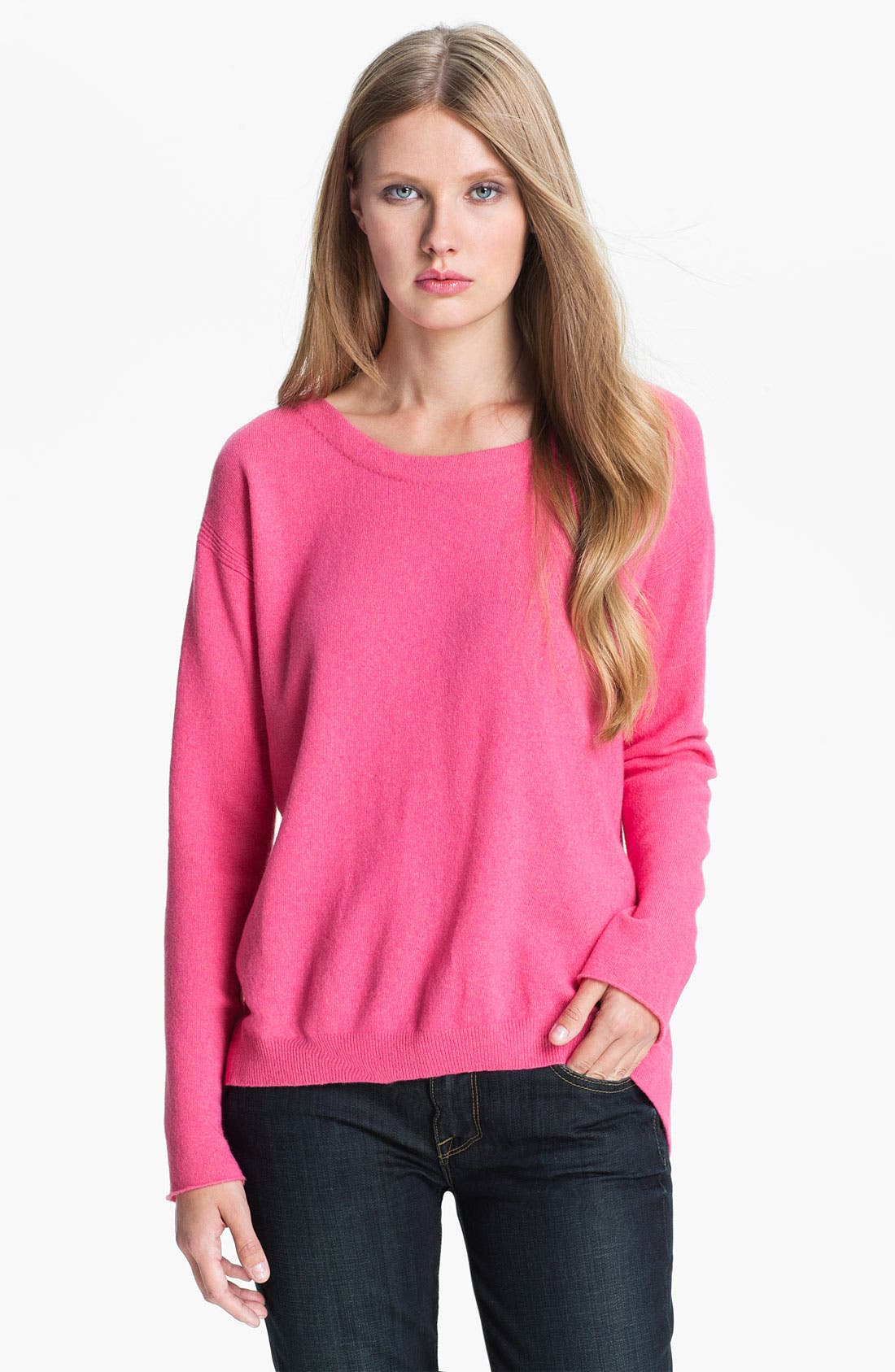 Alternate Image 1 Selected - Diane von Furstenberg 'Garnet' Cashmere Sweater