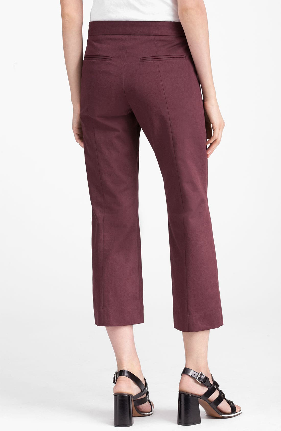 Alternate Image 2  - Marni Edition Crop Crepe Pants