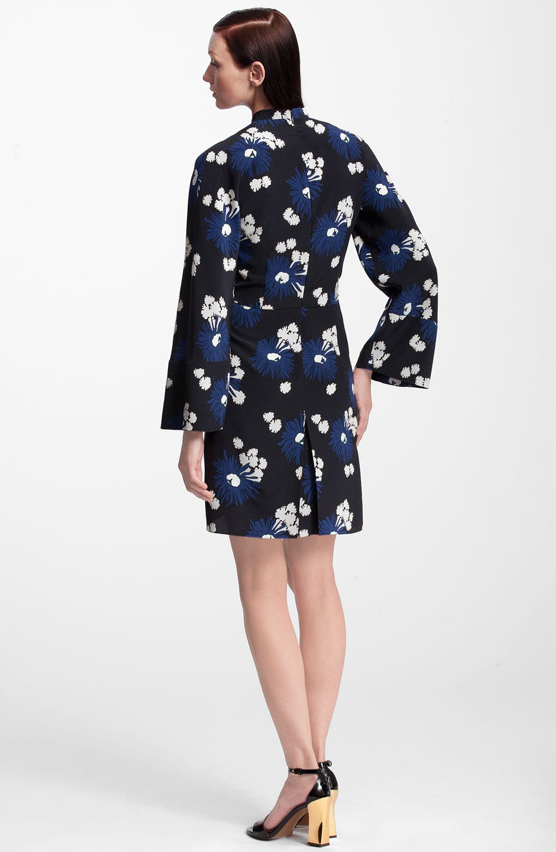 Alternate Image 2  - Marni Floral Print Silk Dress
