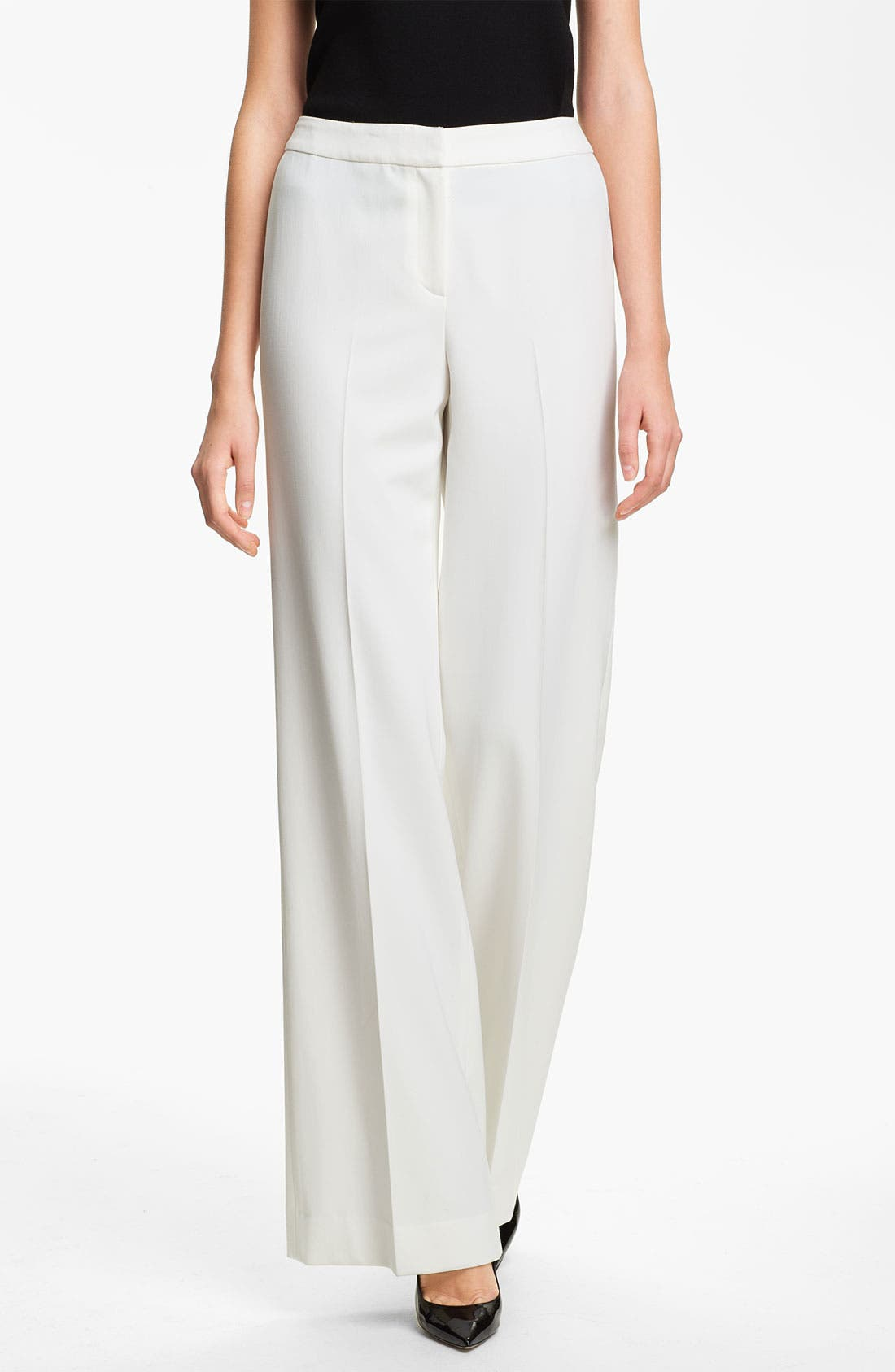 Alternate Image 1 Selected - St. John Collection 'Diana' Stretch Woven Pants