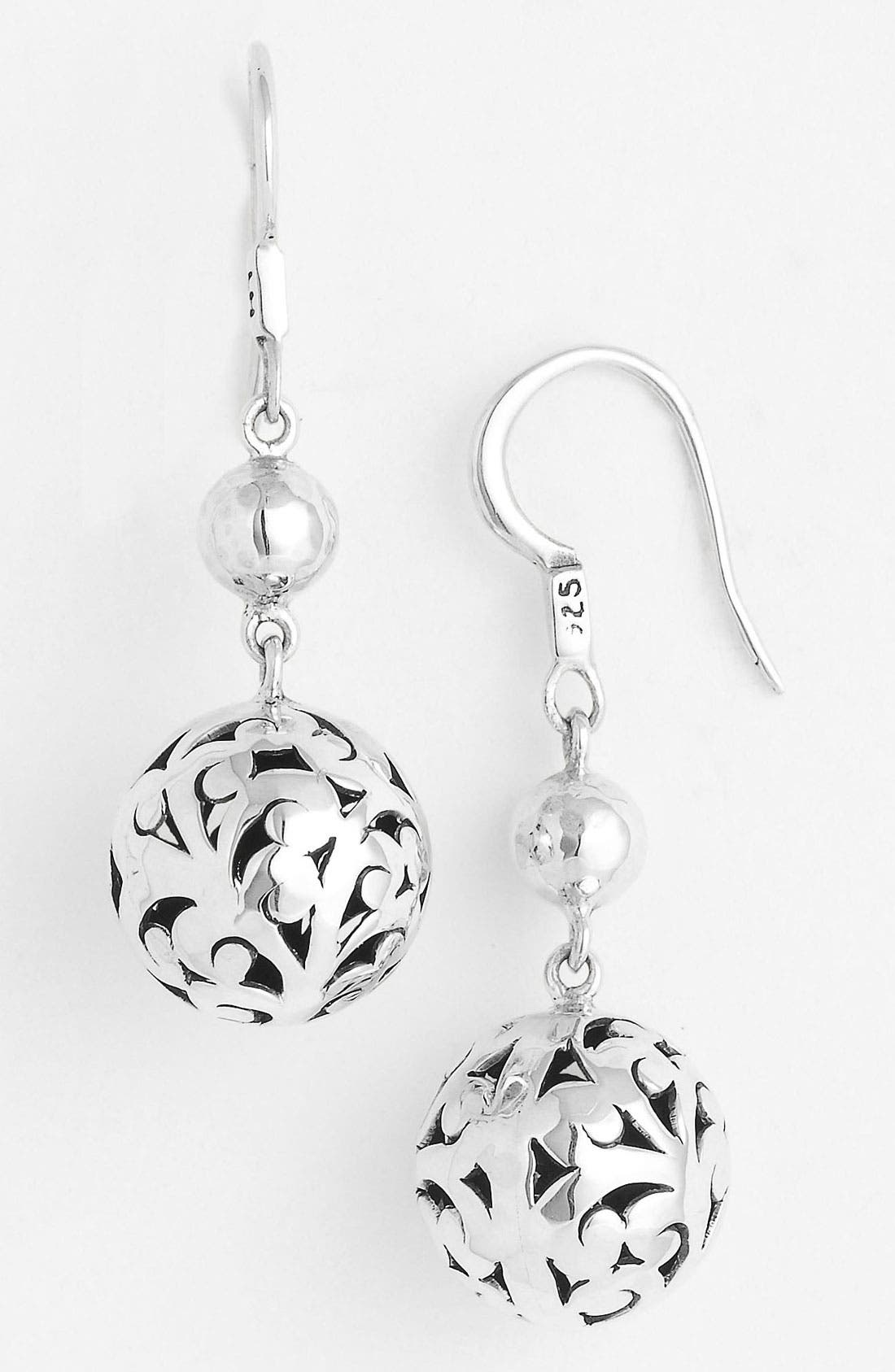 Alternate Image 1 Selected - Lois Hill 'Ball & Chain' Bead Earrings