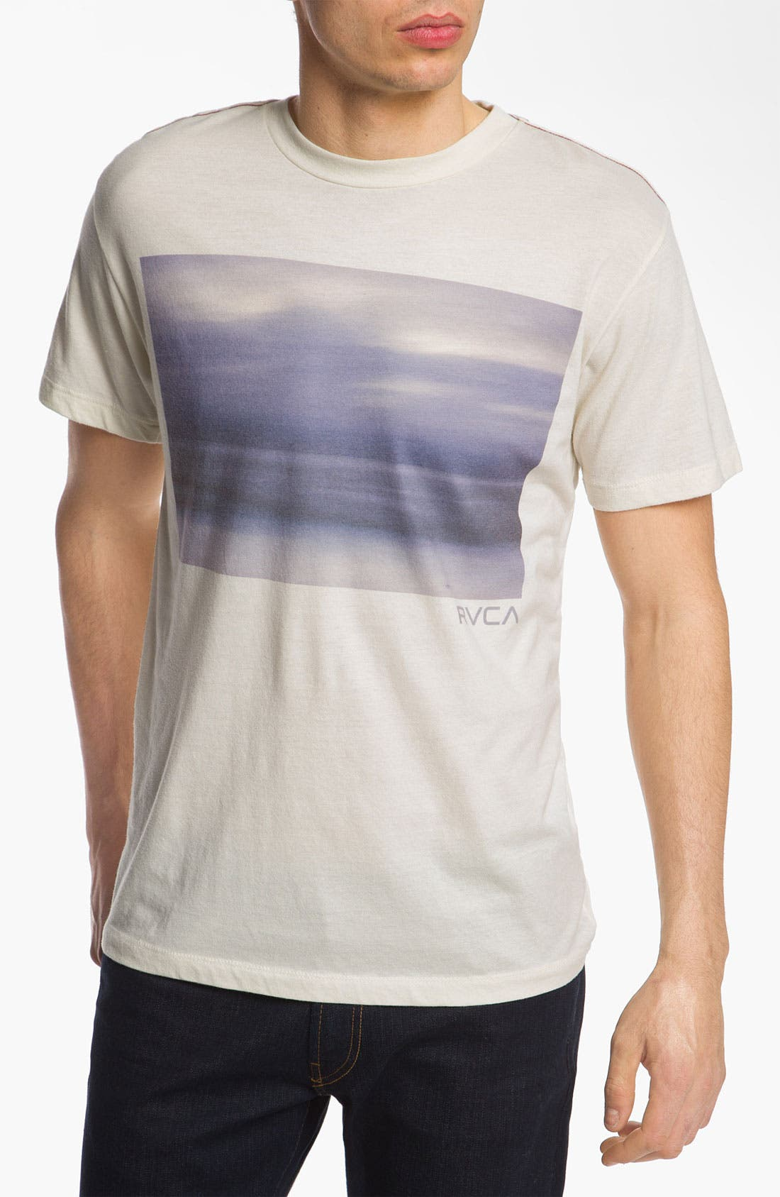 Alternate Image 1 Selected - RVCA 'Night for Day' Vintage Wash T-Shirt