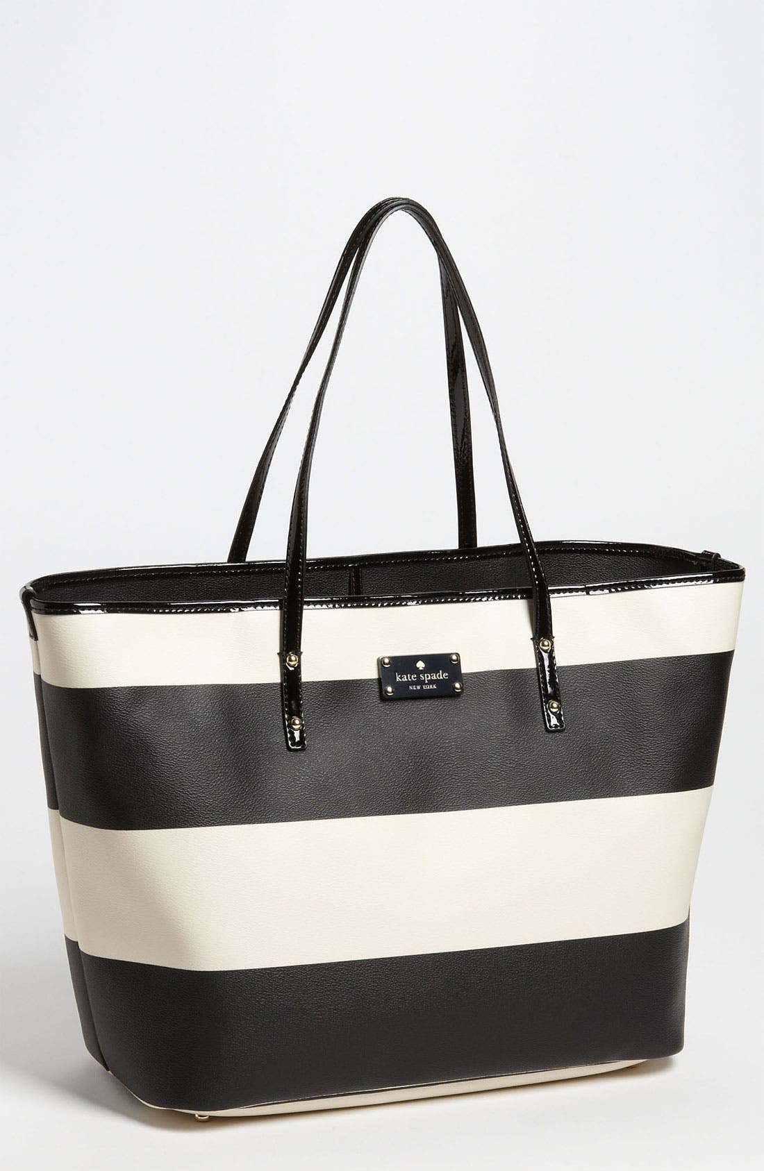 Main Image - kate spade new york 'boutique stripe - harmony' tote