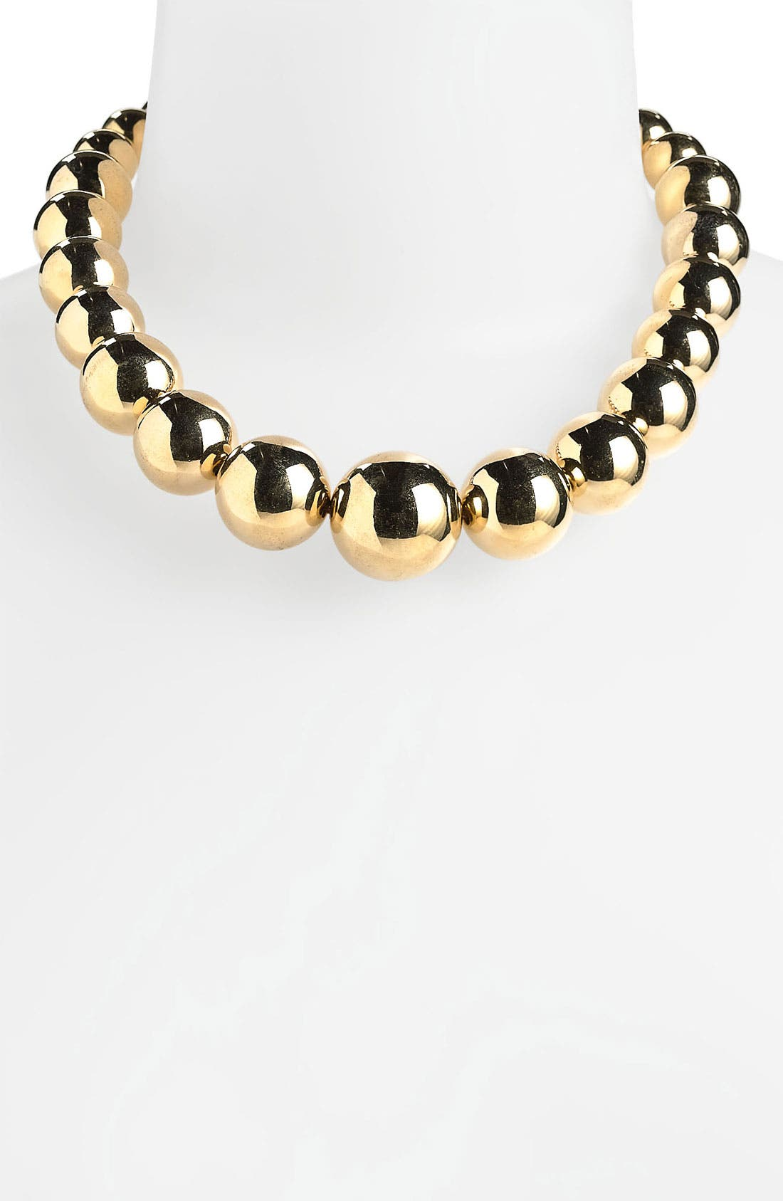 Alternate Image 1 Selected - Michael Kors Beaded Collar Necklace