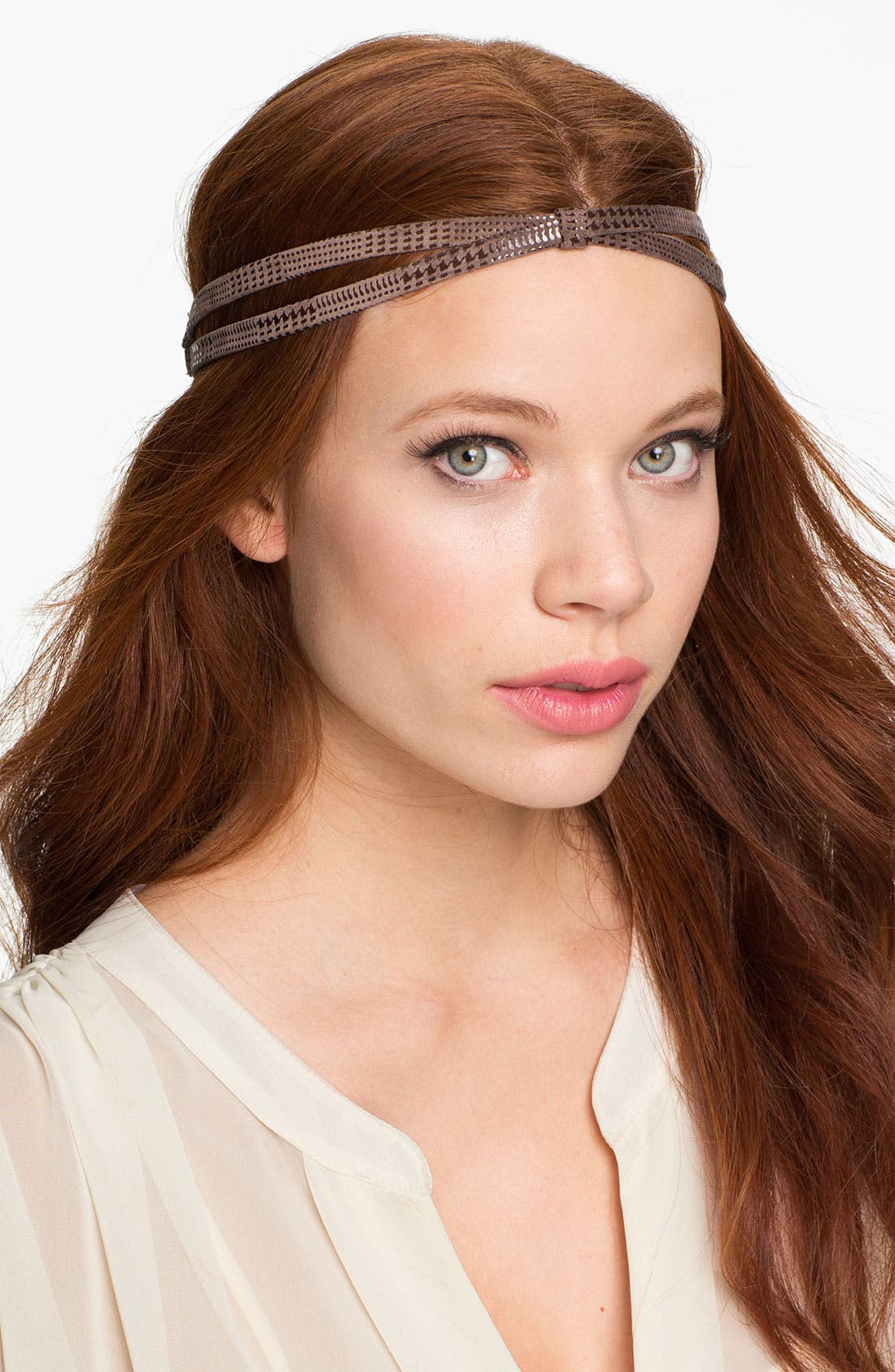 Alternate Image 1 Selected - Tasha 'Holy Houndstooth' Head Wrap