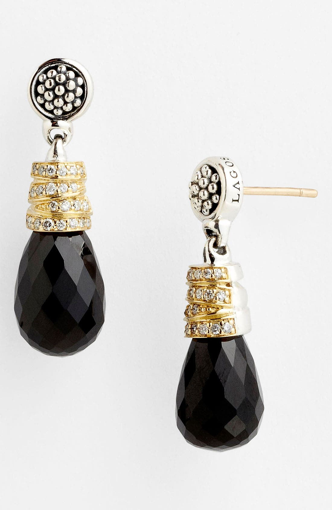 Alternate Image 1 Selected - Lagos 'Embrace Noir' Drop Earrings (Online Only)