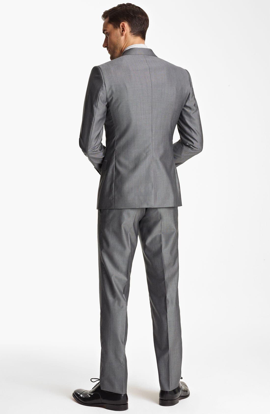Alternate Image 3  - Dolce&Gabbana Wool & Silk Suit