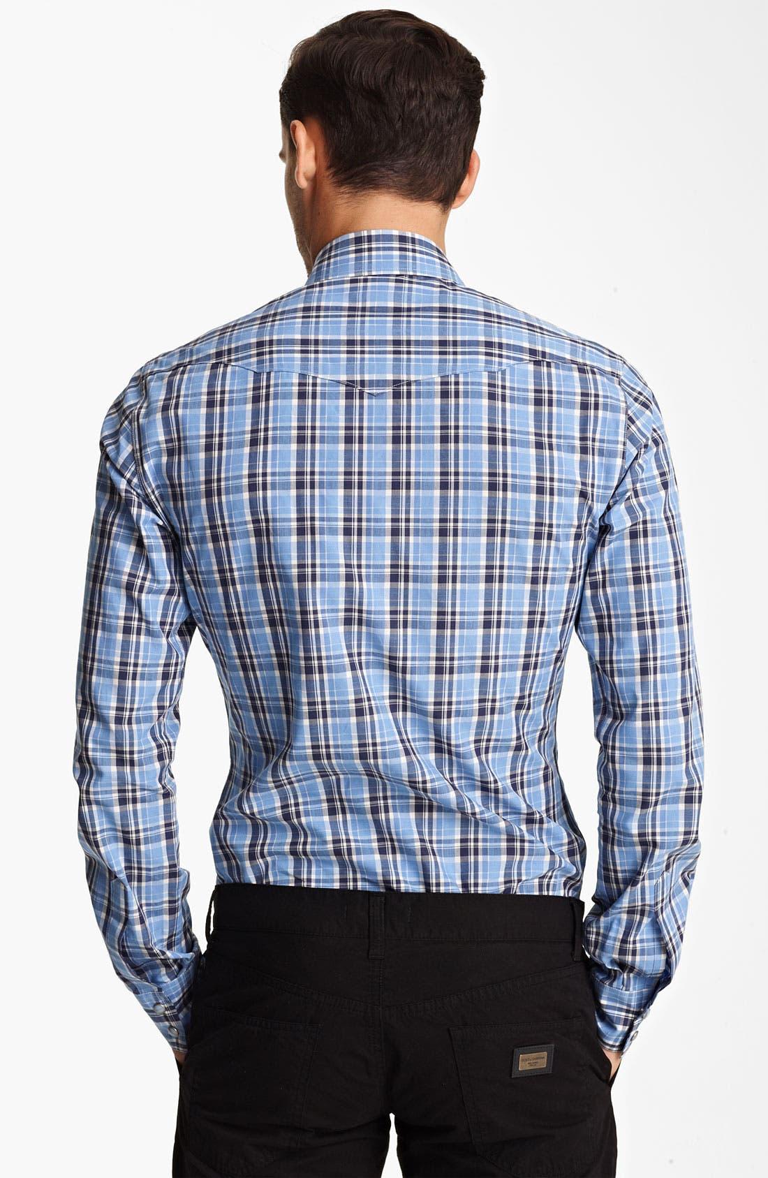 Alternate Image 2  - Dolce&Gabbana Check Shirt